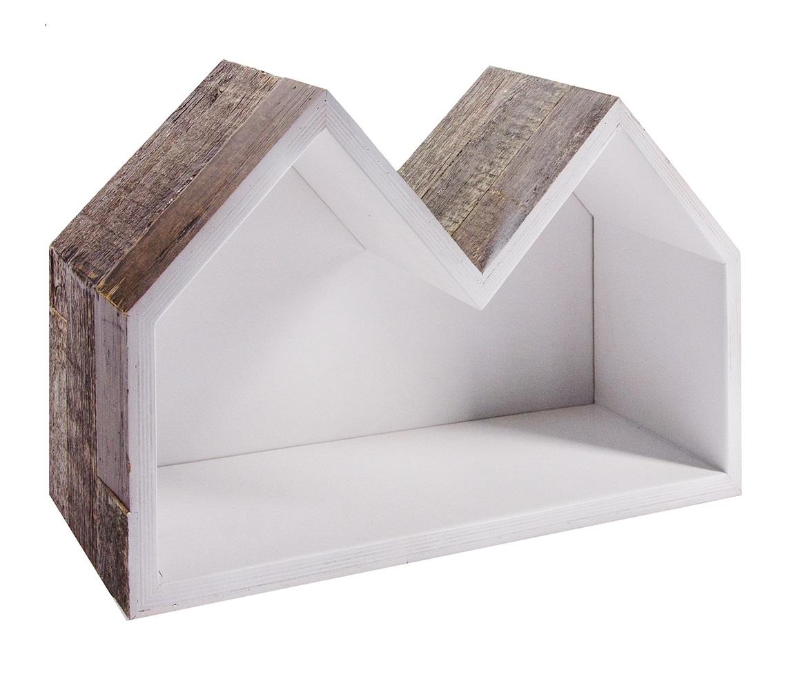 Полка Old houseПолки<br>Отделка внутренней поверхност?и: белый или черный (на выбор);&amp;lt;div&amp;gt;Толщина доски: 4 см.&amp;lt;/div&amp;gt;<br><br>Material: Фанера<br>Ширина см: 59<br>Высота см: 37<br>Глубина см: 20