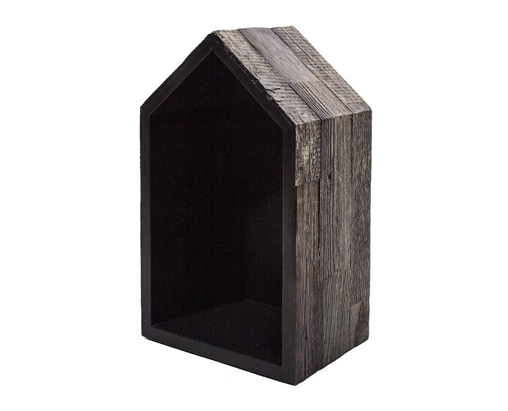 Полка Old houseПолки<br>Отделка внутренней поверхност?и: белый или черный (на выбор);&amp;lt;div&amp;gt;Толщина доски: 4 см.&amp;lt;/div&amp;gt;<br><br>Material: Фанера<br>Width см: 30<br>Depth см: 20<br>Height см: 49