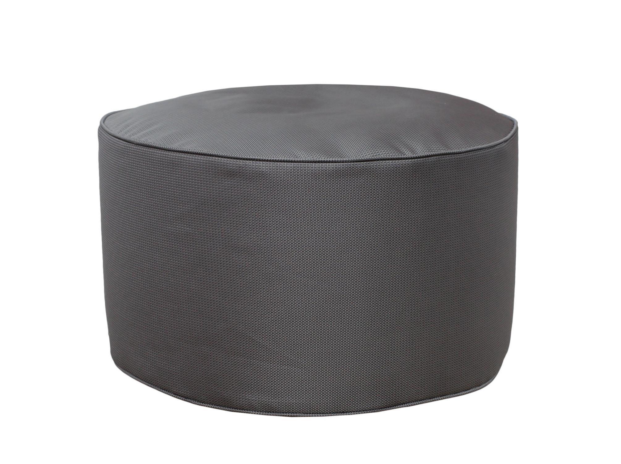 Круглый пуф  SilverФорменные пуфы<br>Этот круглый пуф необыкновенно легок и функционален. Пуф сшит из очень плотной ткани с водоотталкивающим покрытием с внешней стороны, поэтому идеально подойдет для уличного декора.При загрязнении его достаточно протереть мокрой салфеткой.&amp;lt;br&amp;gt;&amp;lt;br&amp;gt;Материал наполнителя: пенополистирол&amp;lt;br&amp;gt;&amp;lt;div&amp;gt;&amp;lt;br&amp;gt;&amp;lt;/div&amp;gt;&amp;lt;div&amp;gt;&amp;lt;br&amp;gt;&amp;lt;/div&amp;gt;<br><br>Material: Текстиль<br>Height см: 30<br>Diameter см: 55