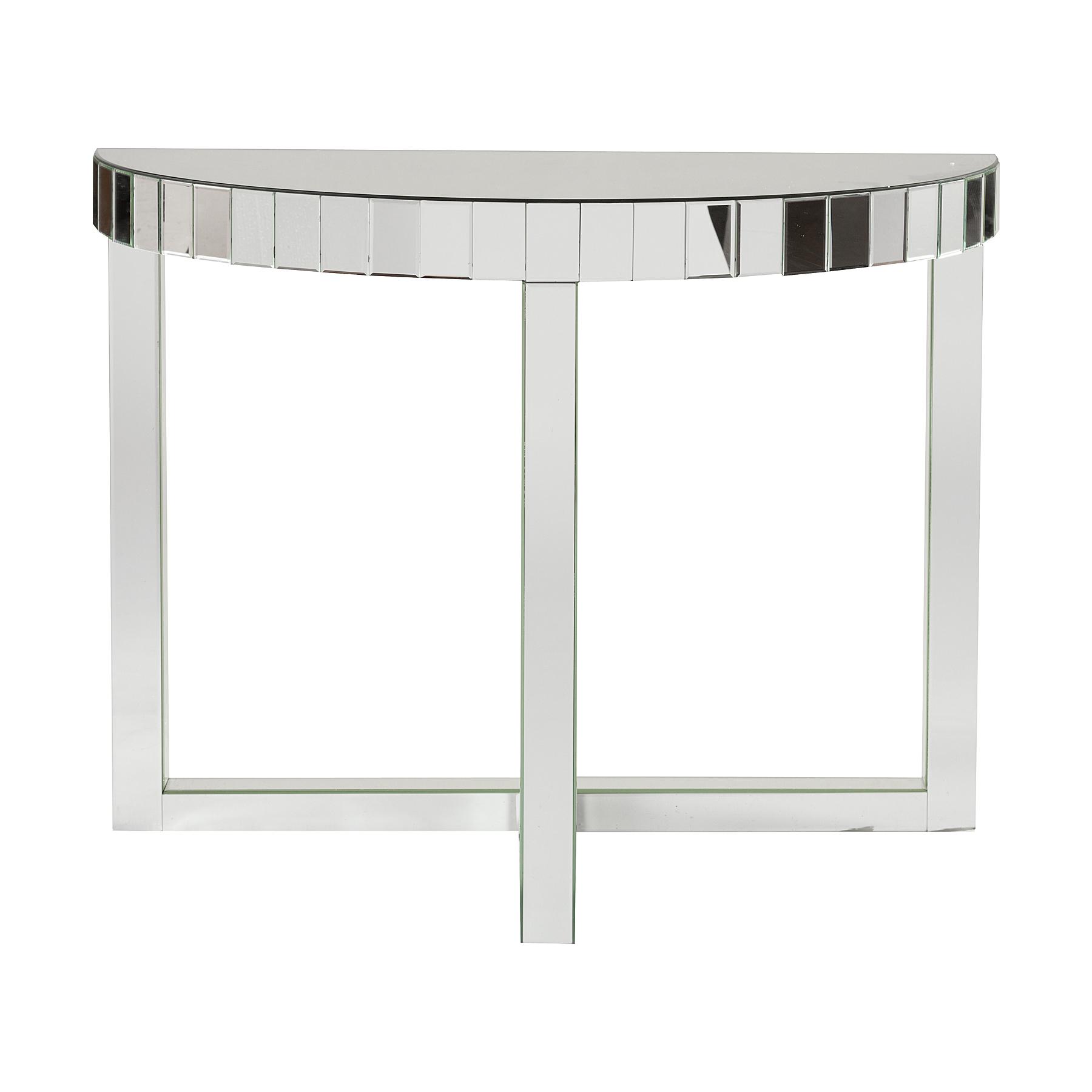 Зеркальный консольный столик VienneИнтерьерные консоли<br><br><br>Material: Стекло<br>Width см: 101<br>Depth см: 40,5<br>Height см: 80,5