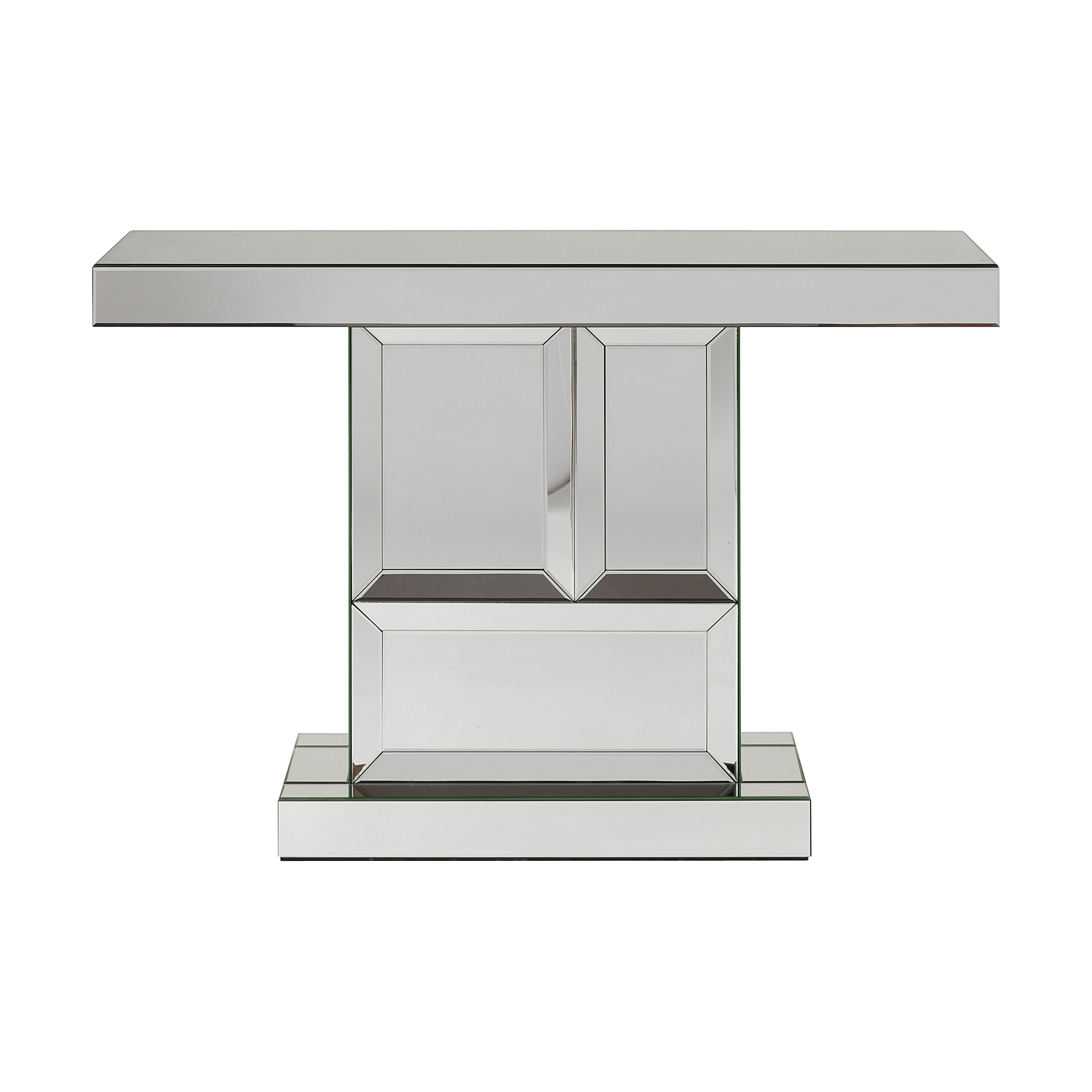 Зеркальный консольный столик MulhouseИнтерьерные консоли<br><br><br>Material: Стекло<br>Width см: 120<br>Depth см: 35,5<br>Height см: 80