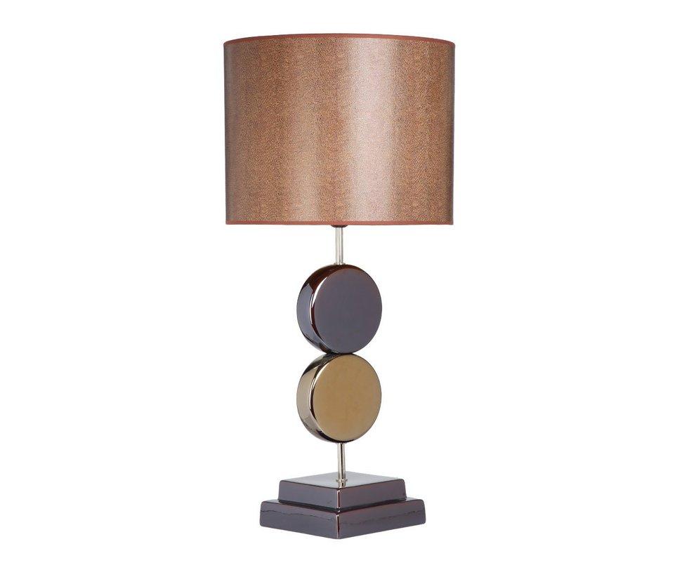 Настольная  лампаДекоративные лампы<br>Лампа — переосмысление детской пирамидки: фигуры будто нанизаны на устойчивую ось, при этом они не подобны друг другу, абажур смотрится тяжелее основания, детали которого будто подвешены в воздухе. Этот смелый дизайнерский эксперимент оправдал себя: лампа выглядит очень стильно и оригинально.&amp;lt;div&amp;gt;&amp;lt;br&amp;gt;&amp;lt;/div&amp;gt;&amp;lt;div&amp;gt;&amp;lt;div&amp;gt;Вид цоколя: E27&amp;lt;/div&amp;gt;&amp;lt;div&amp;gt;Мощность: 60W&amp;lt;/div&amp;gt;&amp;lt;div&amp;gt;Количество ламп: 1&amp;lt;/div&amp;gt;&amp;lt;/div&amp;gt;<br><br>Material: Керамика<br>Height см: 80.5<br>Diameter см: 38