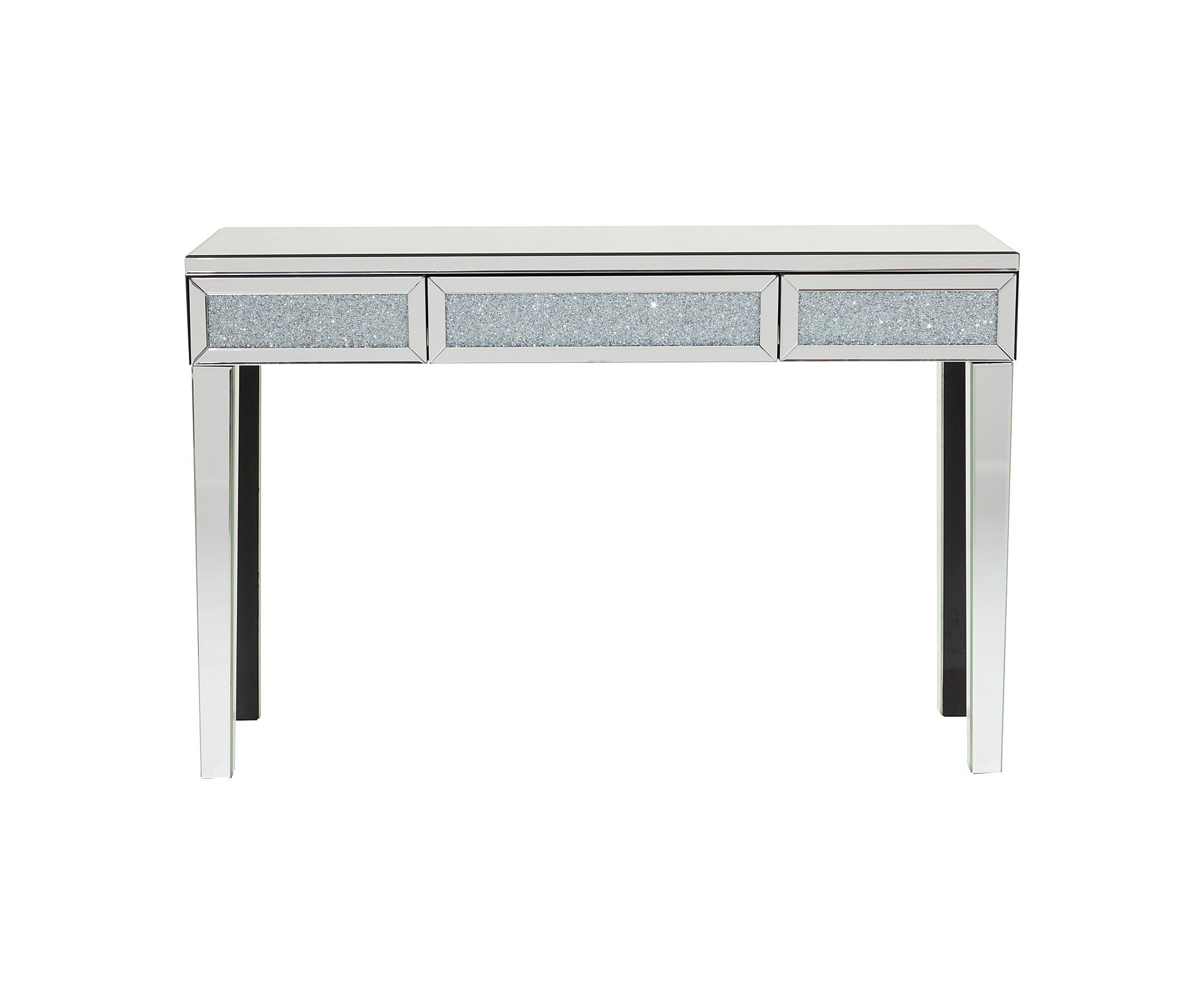 Зеркальный консольный столик