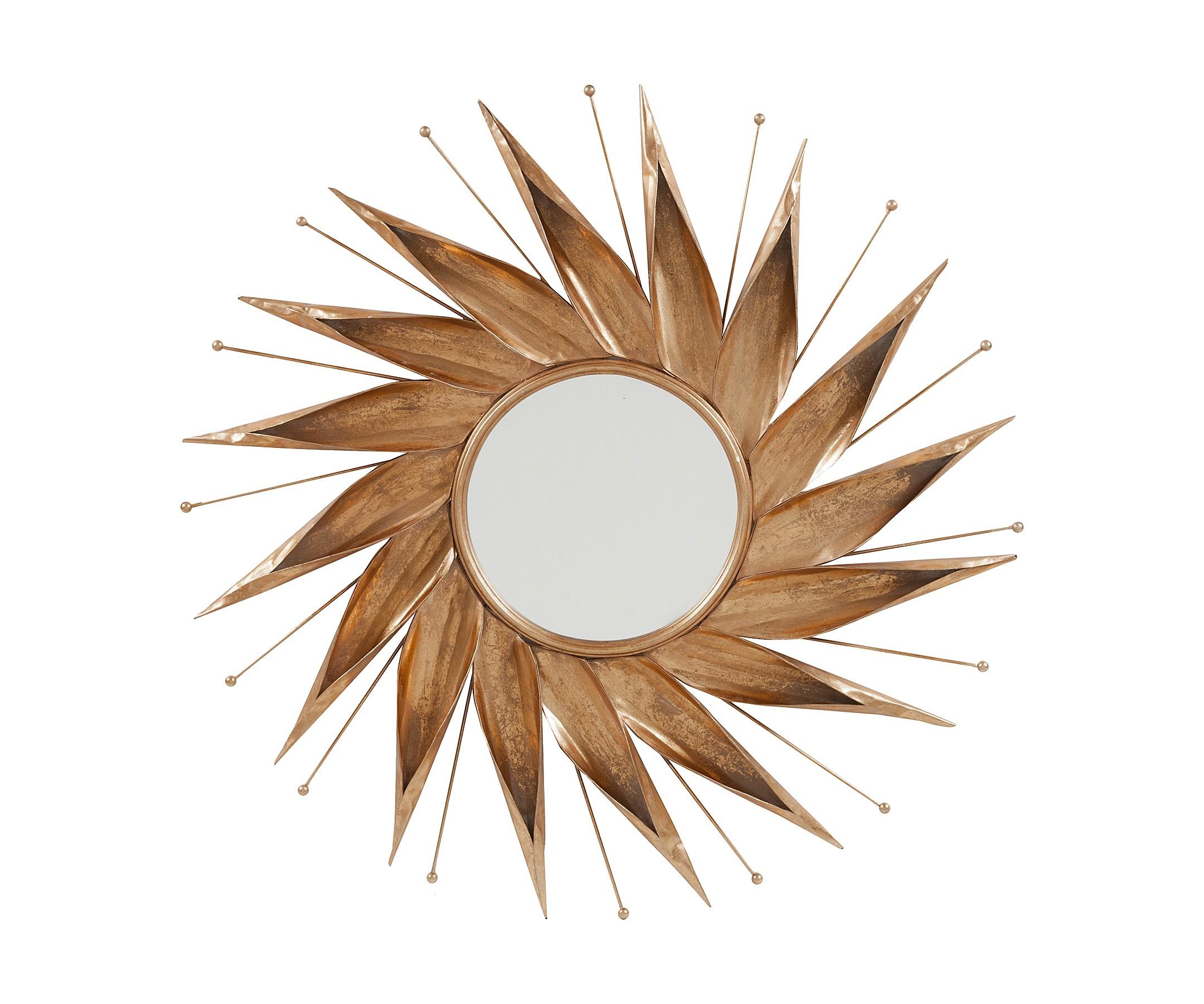Зеркало NovaraНастенные зеркала<br><br><br>Material: Металл<br>Depth см: 2<br>Diameter см: 110