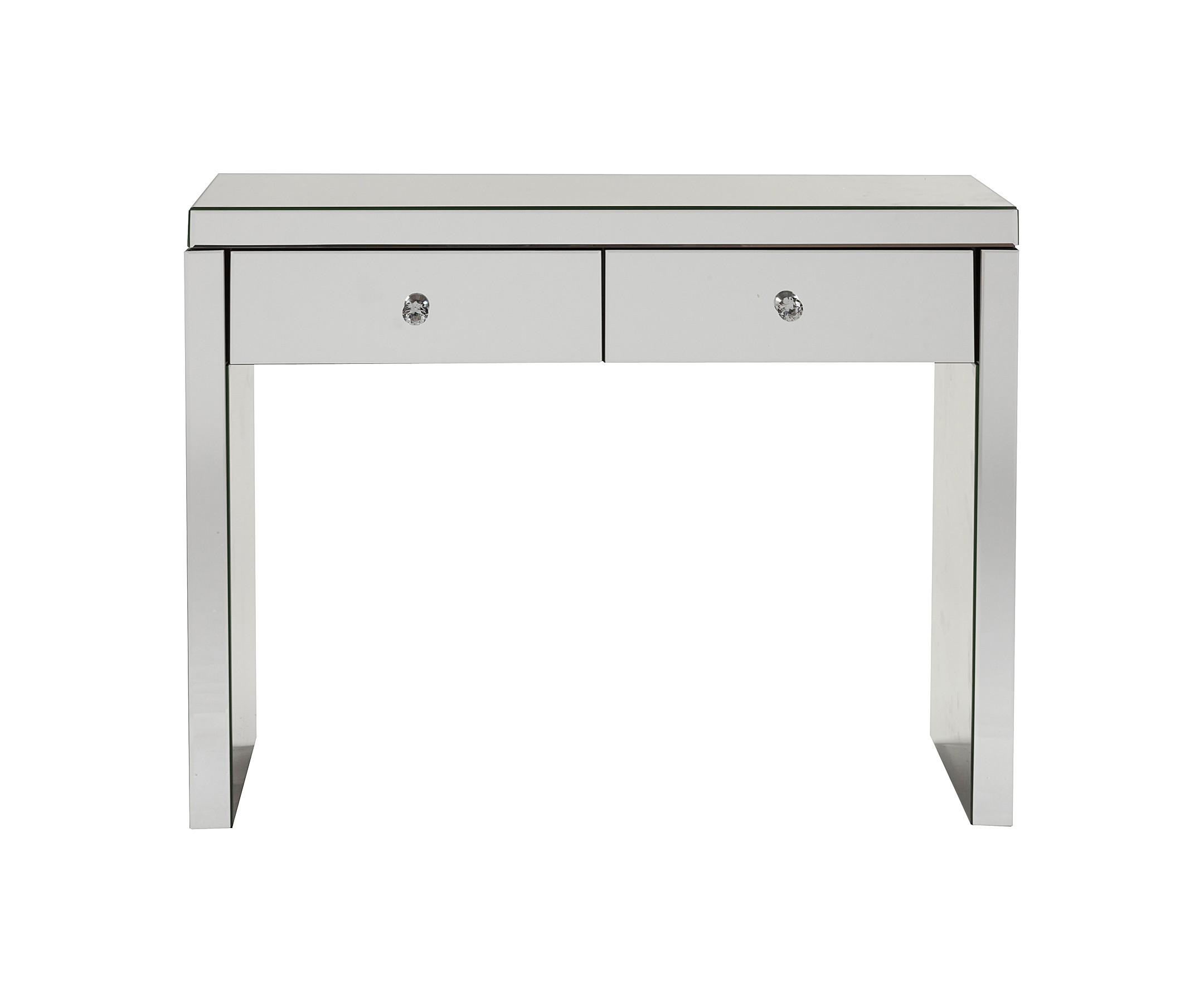 Зеркальный консольный столик LimogesКонсоли с ящиками<br><br><br>Material: Стекло<br>Width см: 100<br>Depth см: 36<br>Height см: 76