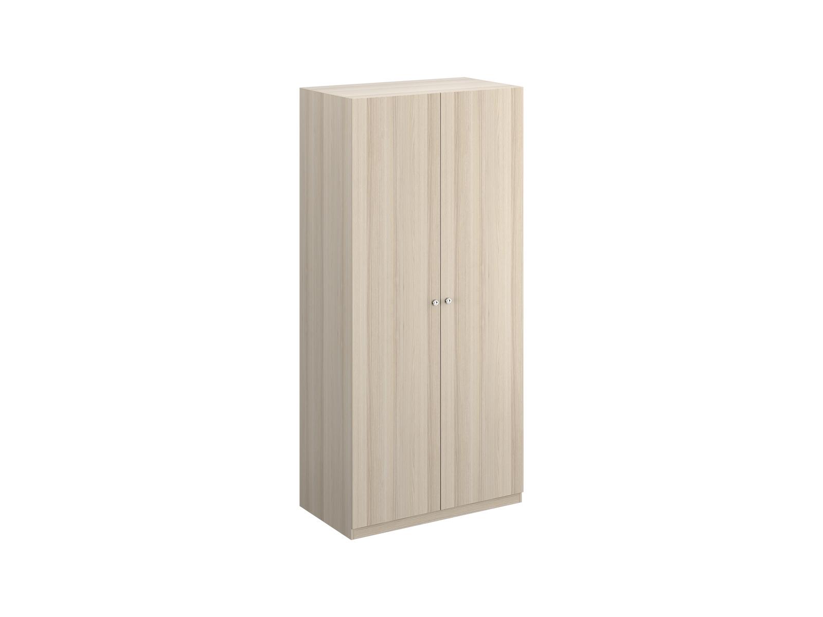 Шкаф Uno Ш2Платяные шкафы<br>Шкаф двухдверный с одной стационарной верхней и одной съемной нижней полками. Установлен на регулируемые опоры. Данную мебель рекомендуется крепить к стене. Ручки и внутренние элементы продаются отдельно.<br><br>Material: ДСП<br>Ширина см: 110<br>Высота см: 233<br>Глубина см: 60