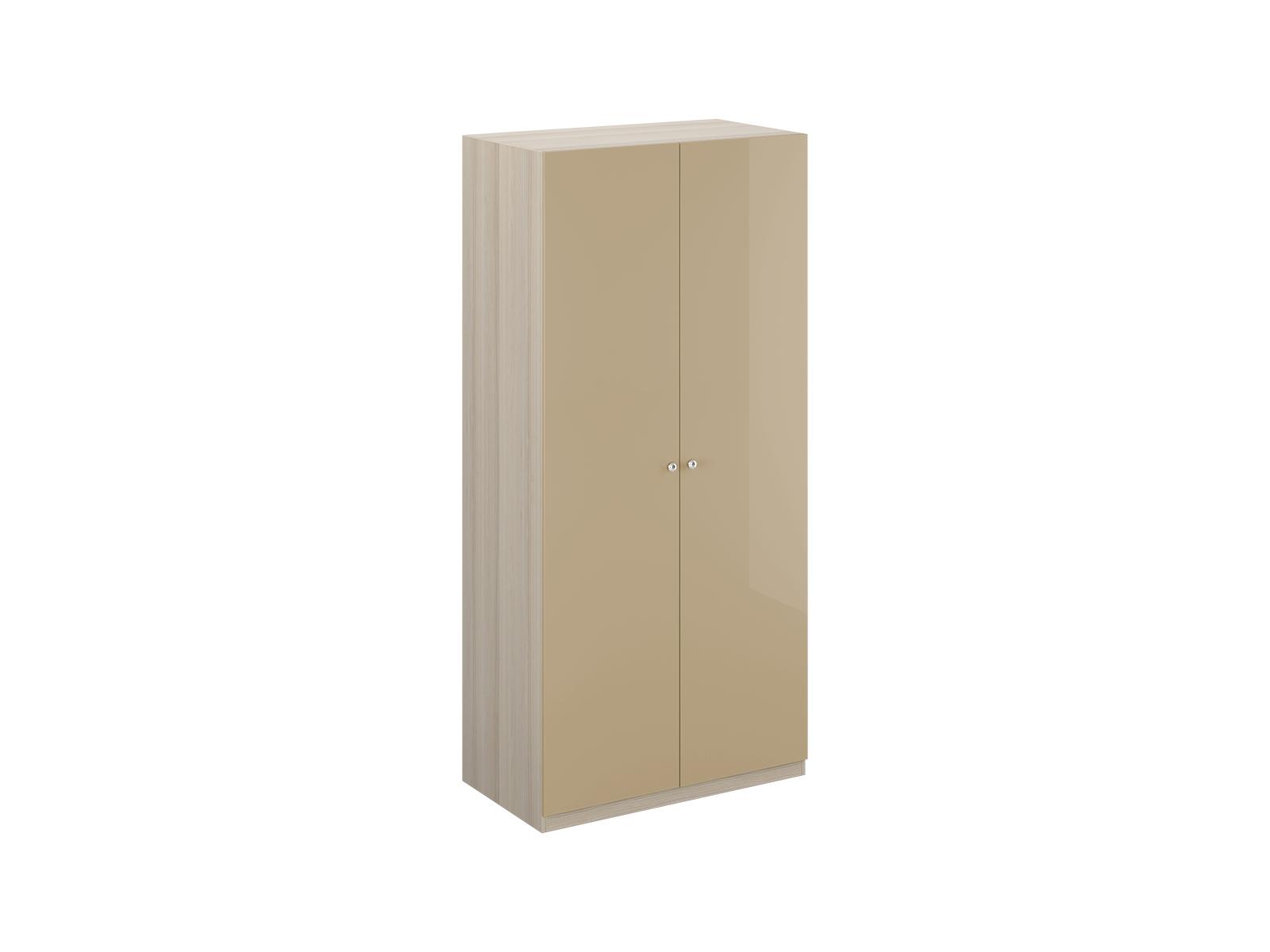 Шкаф Uno Ш2Платяные шкафы<br>Шкаф двухдверный с одной стационарной верхней и одной съемной нижней полками. Установлен на регулируемые опоры. Данную мебель рекомендуется крепить к стене. Ручки и внутренние элементы продаются отдельно.<br><br>Material: ДСП<br>Width см: 110<br>Depth см: 60<br>Height см: 233