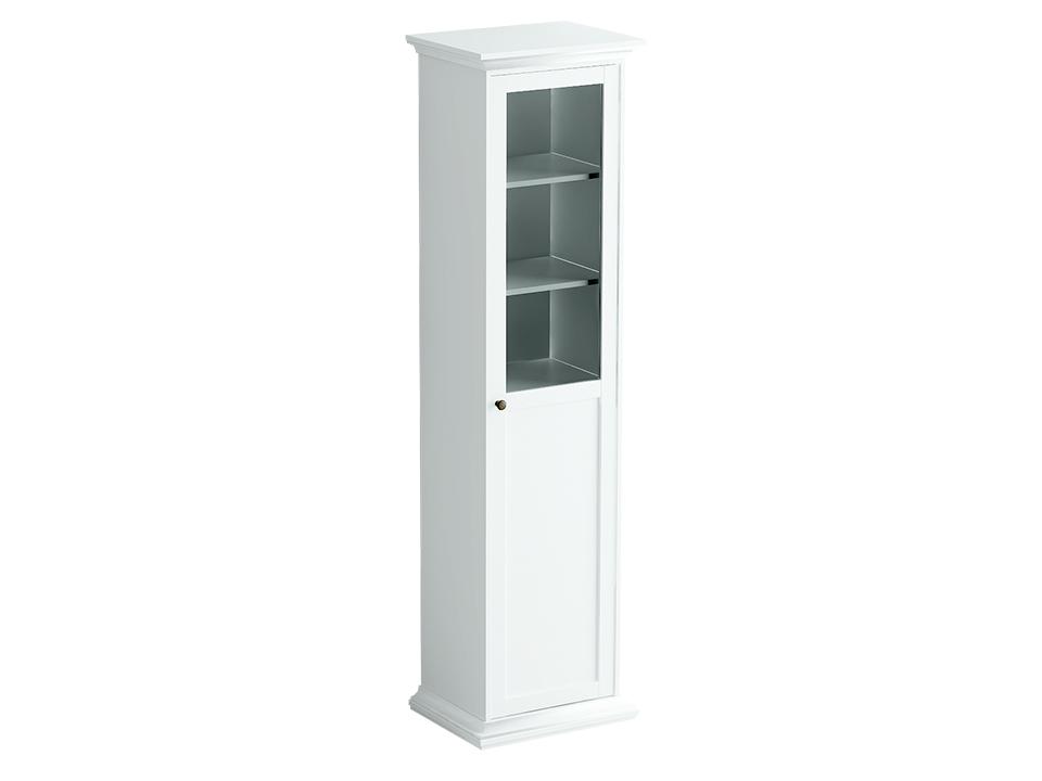 Шкаф однодверный ReinaПлатяные шкафы<br>Шкаф-пенал состоит из одного отделения за распашной комбинированной дверцей. Внутри расположена одна стационарная и четыре съемные полки для хранения вещей.<br><br>Material: ДСП<br>Width см: 54<br>Depth см: 42<br>Height см: 201