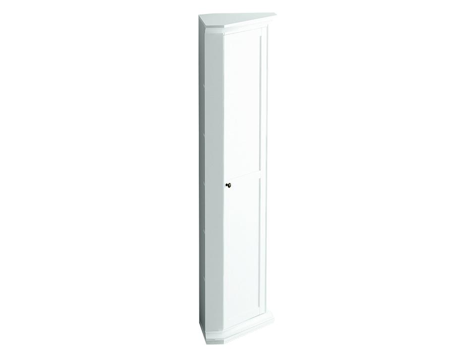 Шкаф угловой ReinaБельевые шкафы<br>Шкаф угловой состоит из одного деления за  распашной дверцей. Внутри расположена одна стационарная и четыре съемные полки для хранения вещей.&amp;lt;div&amp;gt;&amp;lt;br&amp;gt;&amp;lt;/div&amp;gt;<br><br>Material: ДСП<br>Width см: 48<br>Depth см: 48<br>Height см: 201
