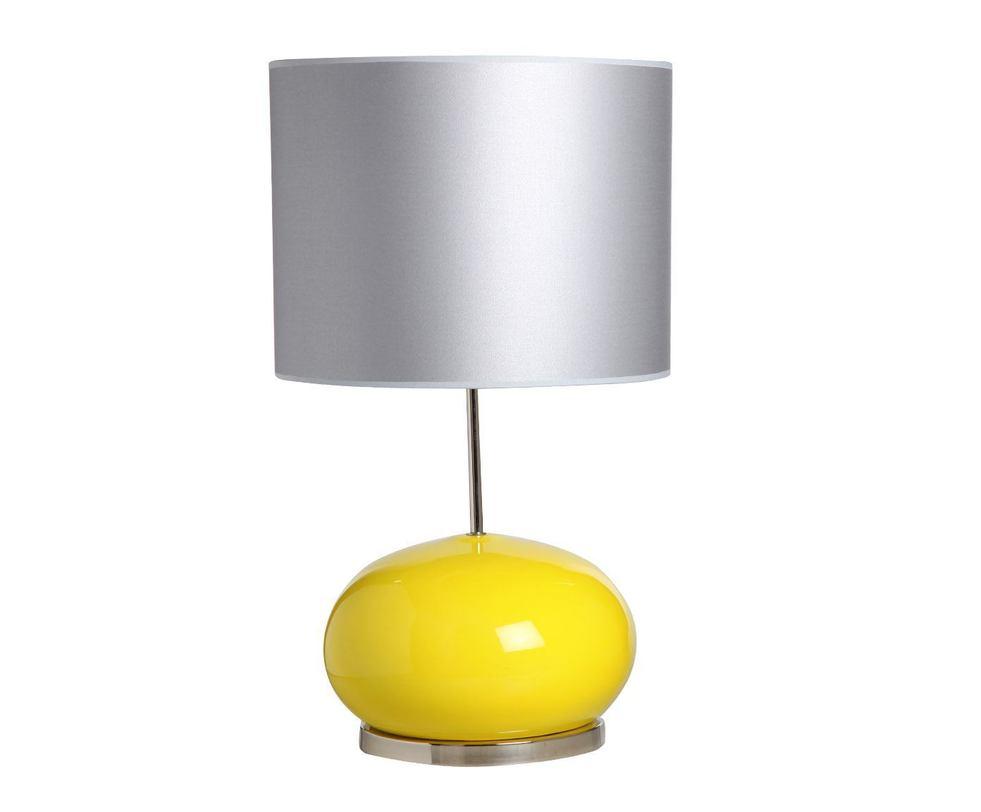 Настольная  лампаДекоративные лампы<br>Яркая настольная лампа с крупным абажуром цилиндрической формы станет центральным аксессуаром гостиной или спальни. Яркие цветовые акценты и простые геометрические формы делают ее запоминающейся.&amp;lt;div&amp;gt;&amp;lt;br&amp;gt;&amp;lt;/div&amp;gt;&amp;lt;div&amp;gt;&amp;lt;div&amp;gt;Вид цоколя: E27&amp;lt;/div&amp;gt;&amp;lt;div&amp;gt;Мощность: 60W&amp;lt;/div&amp;gt;&amp;lt;div&amp;gt;Количество ламп: 1&amp;lt;/div&amp;gt;&amp;lt;/div&amp;gt;<br><br>Material: Керамика<br>Height см: 65<br>Diameter см: 38