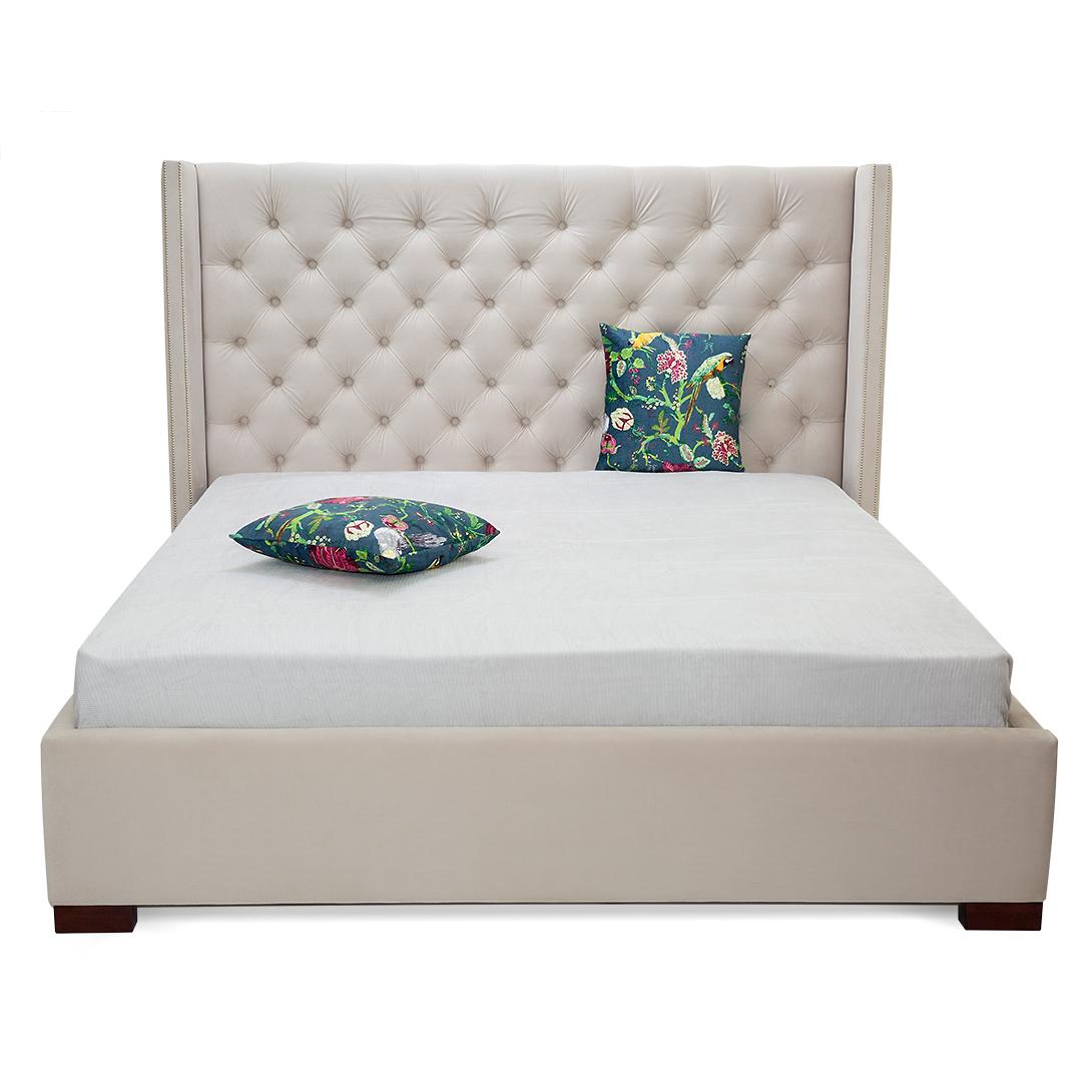 Кровать NewportКровати с мягким изголовьем<br>&amp;lt;div&amp;gt;Не бойтесь мечтать! Эта кровать твердо стоит на земле и не позволит вам от нее оторваться, но, облокотившись на это высокое изголовье, вы можете унестись в ваших мечтах так далеко, как только пожелаете. &amp;amp;nbsp;Элегантная каретная стяжка и небольшие боковые панели подчеркивают элегантность образа.&amp;lt;/div&amp;gt;&amp;lt;div&amp;gt;&amp;lt;br&amp;gt;&amp;lt;/div&amp;gt;&amp;lt;div&amp;gt;Дополнительные возможности: подъемный механизм.&amp;amp;nbsp;&amp;lt;/div&amp;gt;&amp;lt;div&amp;gt;Ламели входят в стоимость.&amp;lt;/div&amp;gt;&amp;lt;div&amp;gt;&amp;lt;br&amp;gt;&amp;lt;/div&amp;gt;&amp;lt;div&amp;gt;Размеры спального места:&amp;amp;nbsp;&amp;lt;/div&amp;gt;&amp;lt;div&amp;gt;140*200&amp;amp;nbsp;&amp;lt;/div&amp;gt;&amp;lt;div&amp;gt;160*200 - представлено&amp;amp;nbsp;&amp;lt;/div&amp;gt;&amp;lt;div&amp;gt;180*200&amp;amp;nbsp;&amp;lt;/div&amp;gt;&amp;lt;div&amp;gt;200*200&amp;amp;nbsp;&amp;lt;/div&amp;gt;<br><br>Material: Текстиль<br>Length см: None<br>Width см: 182<br>Depth см: 230<br>Height см: 142