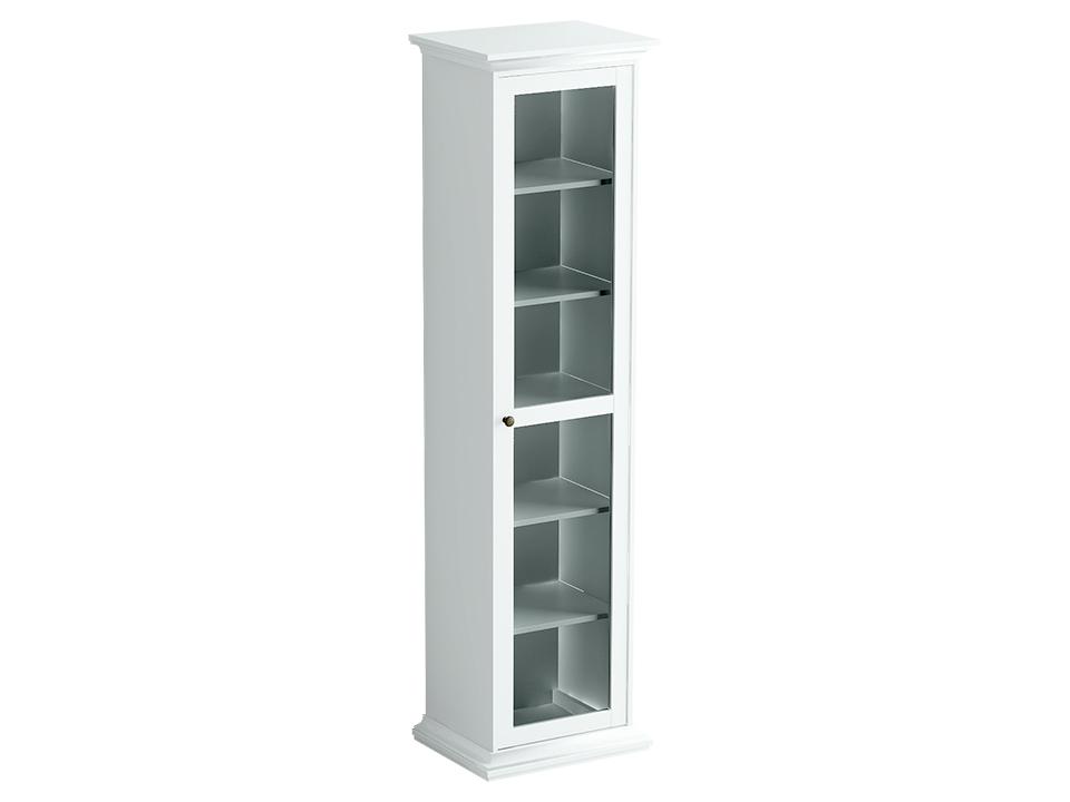 Шкаф однодверный ReinaВитрины<br>&amp;lt;div&amp;gt;Этот аккуратный шкафчик - &amp;amp;nbsp;воплощение изысканности прованского стиля. Лаконичный дизайн, натуральные материалы и элегантная стеклянная вставка на дверце украсят ваш дом и сделают его уютнее.&amp;lt;br&amp;gt;&amp;lt;/div&amp;gt;<br><br>Material: ДСП<br>Width см: 54<br>Depth см: 42<br>Height см: 201