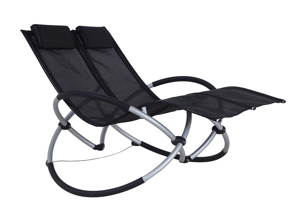 Шезлонг-качалка LoungeШезлонги<br>&amp;lt;div&amp;gt;Позвольте себе почувствовать прикосновение солнечных лучей, легкий свежий ветерок и расслабиться по-настоящему. Двухместная кресло- качалка создана для семейного отдыха на свежем воздухе! Удобное основание и мягкие подголовники, складной механизм, позволяющий легко транспортировать качалку - что еще нужно для чудесного загородного отдыха?&amp;amp;nbsp;&amp;lt;/div&amp;gt;&amp;lt;div&amp;gt;&amp;lt;br&amp;gt;&amp;lt;/div&amp;gt;&amp;lt;div&amp;gt;Материалы: металл, текстилен&amp;lt;/div&amp;gt;<br><br>Material: Металл<br>Width см: 170<br>Depth см: 120<br>Height см: 108
