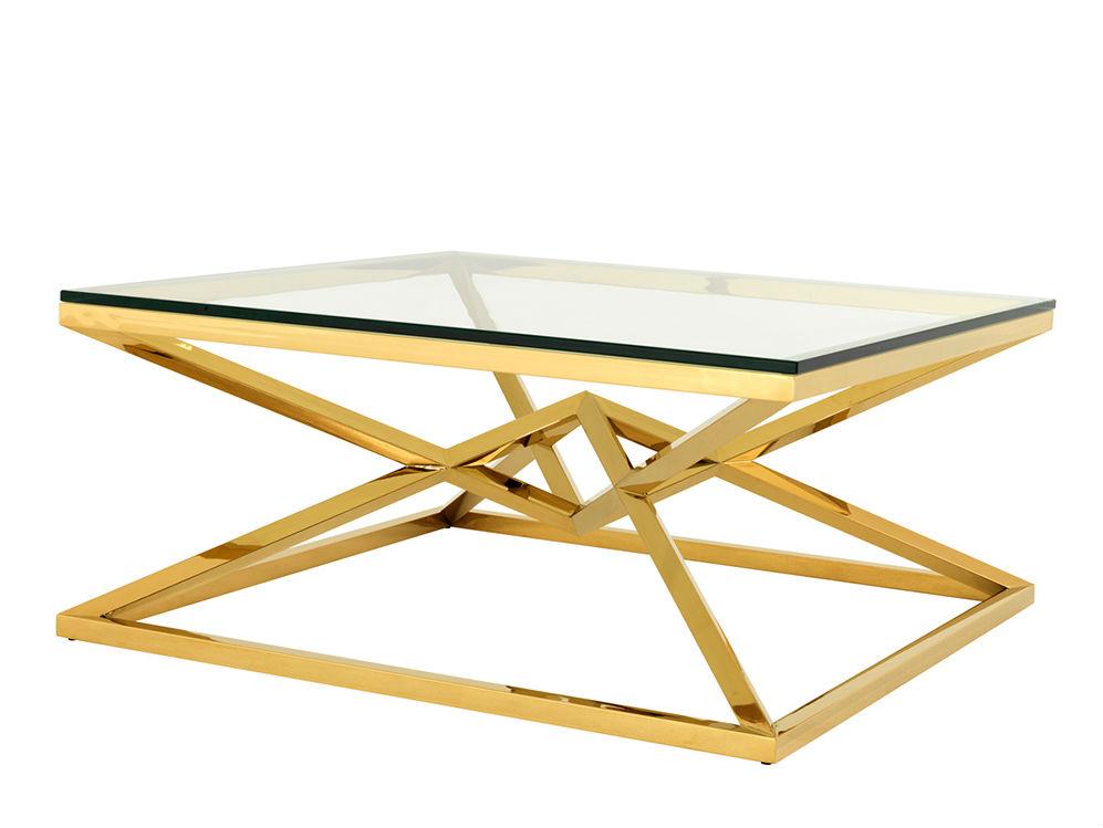Журнальный столикЖурнальные столики<br>Столешница выполнена из плотного прозрачного стекла.<br><br>Material: Стекло<br>Ширина см: 100.0<br>Высота см: 45.0<br>Глубина см: 100.0