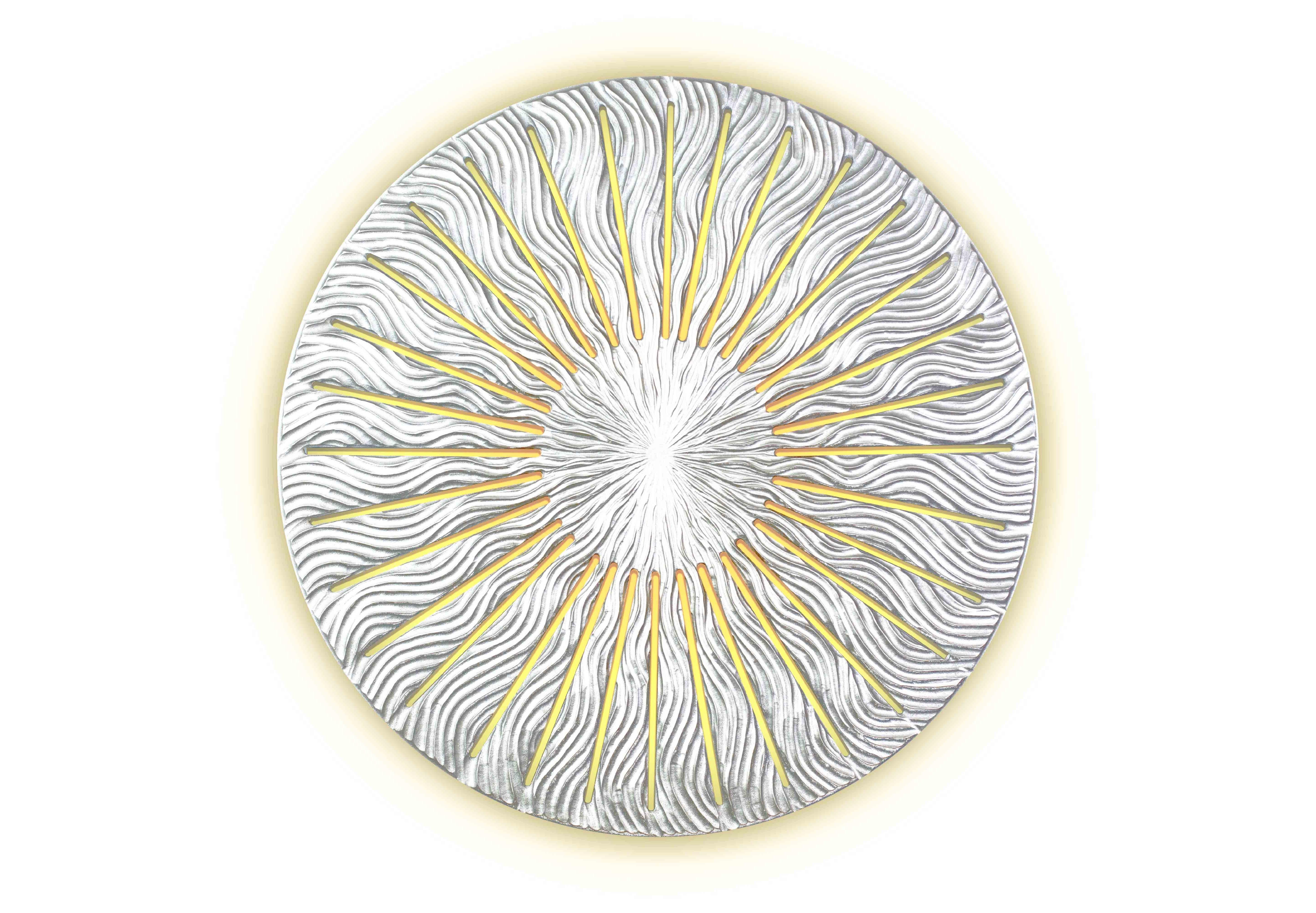 Панно INCIPIENTПанно<br>Встречая рассвет, мы приветствуем возрождение жизни, надежды, любви. <br>Восходящее солнце озаряет и пробуждает мир, вселяет в нас веру в новый день и новую удачу. <br>Панно Incipient символизирует этот чудесный миг – восход солнца.&amp;amp;nbsp;<br><br>Material: Дерево<br>Depth см: 0,8<br>Diameter см: 99
