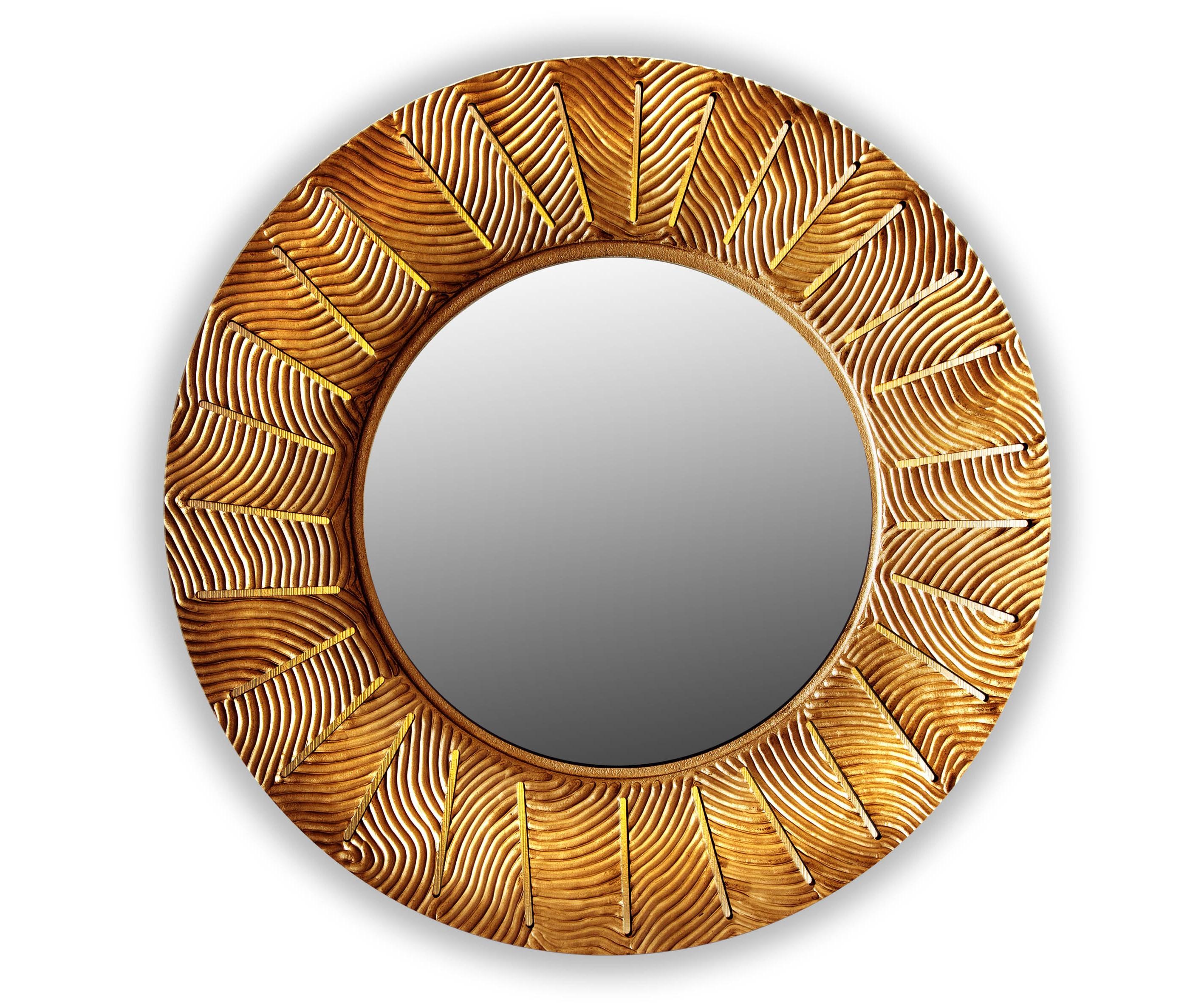 Зеркало SUNSHINEНастенные зеркала<br>С лучами солнца в дом приходят радость и веселье. <br>Распахните жизнь им навстречу, чтобы каждый день приносил удачу. <br>Символ солнца и изобилия-коллекция зеркал Sunshine согреет и осветит ваш дом.&amp;lt;div&amp;gt;&amp;lt;br&amp;gt;&amp;lt;/div&amp;gt;&amp;lt;div&amp;gt;&amp;lt;p class=&amp;quot;MsoNormal&amp;quot;&amp;gt;Товарное предложение оснащено светодиодной подсветкой.&amp;lt;o:p&amp;gt;&amp;lt;/o:p&amp;gt;&amp;lt;/p&amp;gt;&amp;lt;/div&amp;gt;<br><br>Material: Дерево<br>Глубина см: 1.0
