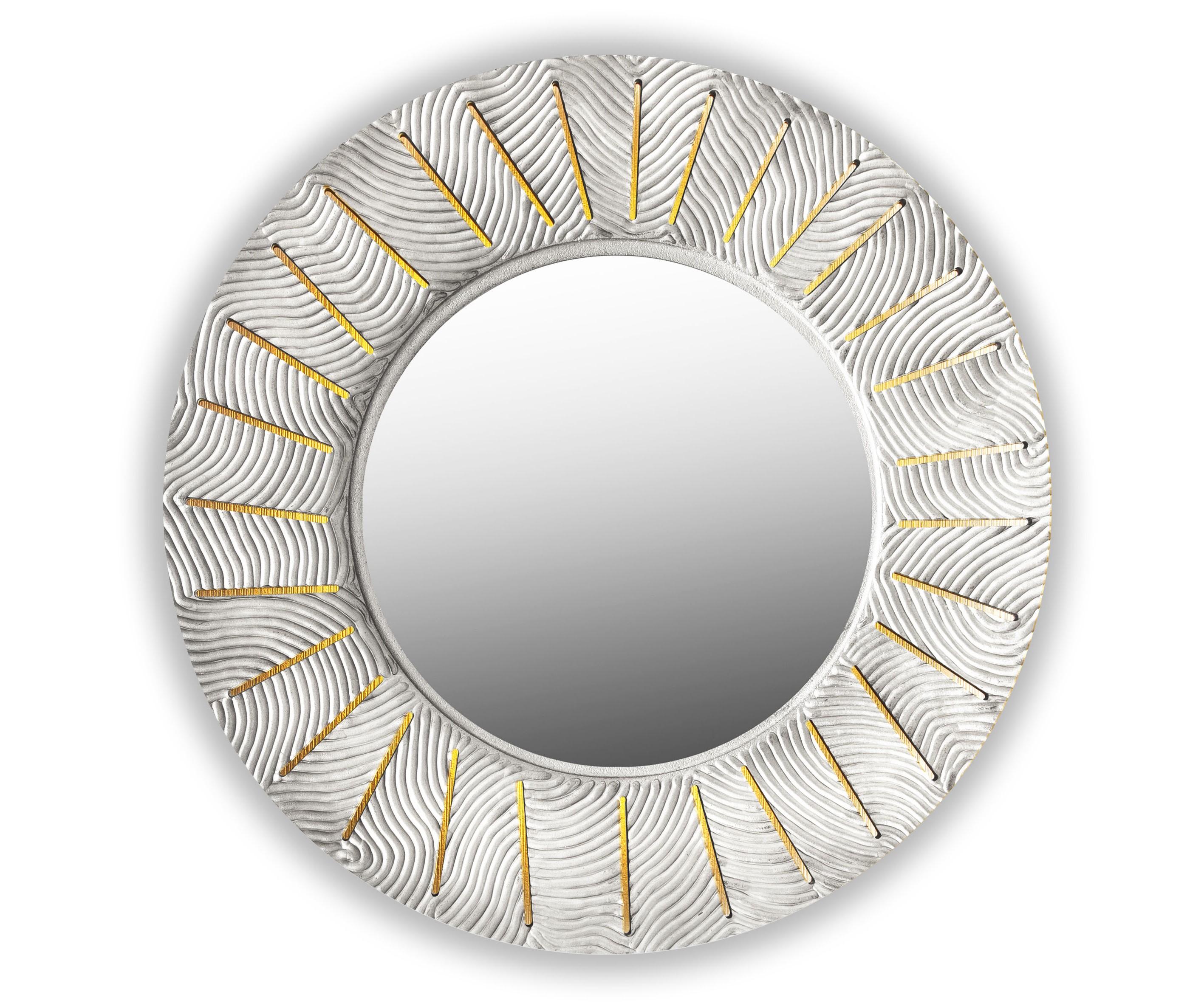 Зеркало SUNSHINEНастенные зеркала<br>С лучами солнца в дом приходят радость и веселье. <br>Распахните жизнь им навстречу, чтобы каждый день приносил удачу. <br>Символ солнца и изобилия-коллекция зеркал Sunshine согреет и осветит ваш дом.&amp;amp;nbsp;&amp;lt;div&amp;gt;&amp;lt;br&amp;gt;&amp;lt;/div&amp;gt;&amp;lt;div&amp;gt;&amp;lt;p class=&amp;quot;MsoNormal&amp;quot;&amp;gt;Товарное предложение оснащено светодиодной подсветкой.&amp;lt;o:p&amp;gt;&amp;lt;/o:p&amp;gt;&amp;lt;/p&amp;gt;&amp;lt;/div&amp;gt;<br><br>Material: Дерево<br>Глубина см: 1.0