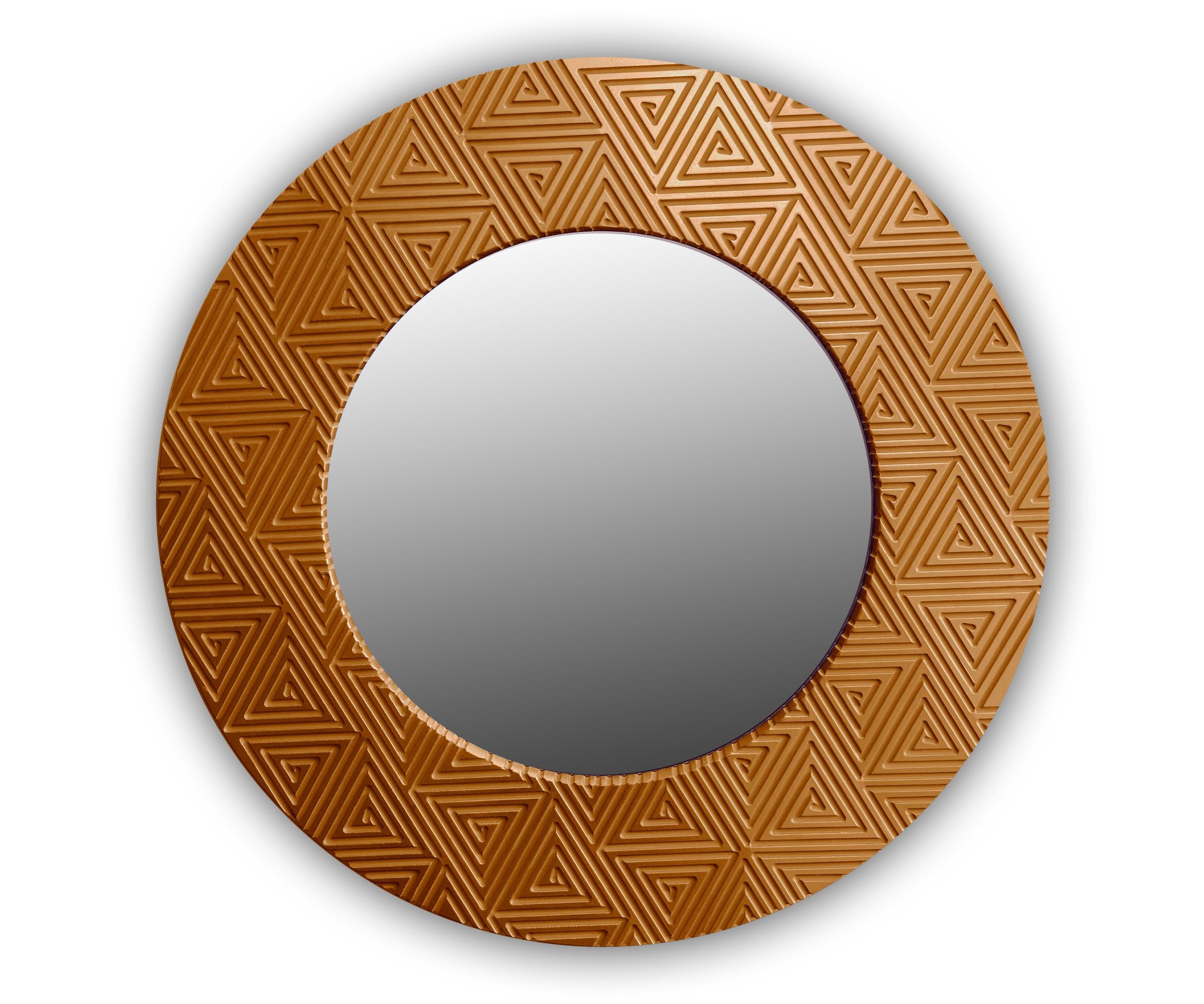 Зеркало PyramidНастенные зеркала<br><br><br>Material: Дерево<br>Глубина см: 4