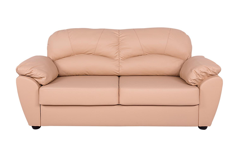 Раскладной диван ЭвитаПрямые раскладные диваны<br>Модель «Эвита» — находка для тех, кто любит коротать время на мягком диване или в уютном кресле с чашкой кофе в руках.<br>Благодаря современному дизайну, мягким формам, а также отсутствию обязывающего декора, эта модель прекрасно впишется практически в любой интерьер.<br><br>Material: Кожа<br>Length см: None<br>Width см: 201<br>Depth см: 93<br>Height см: 95