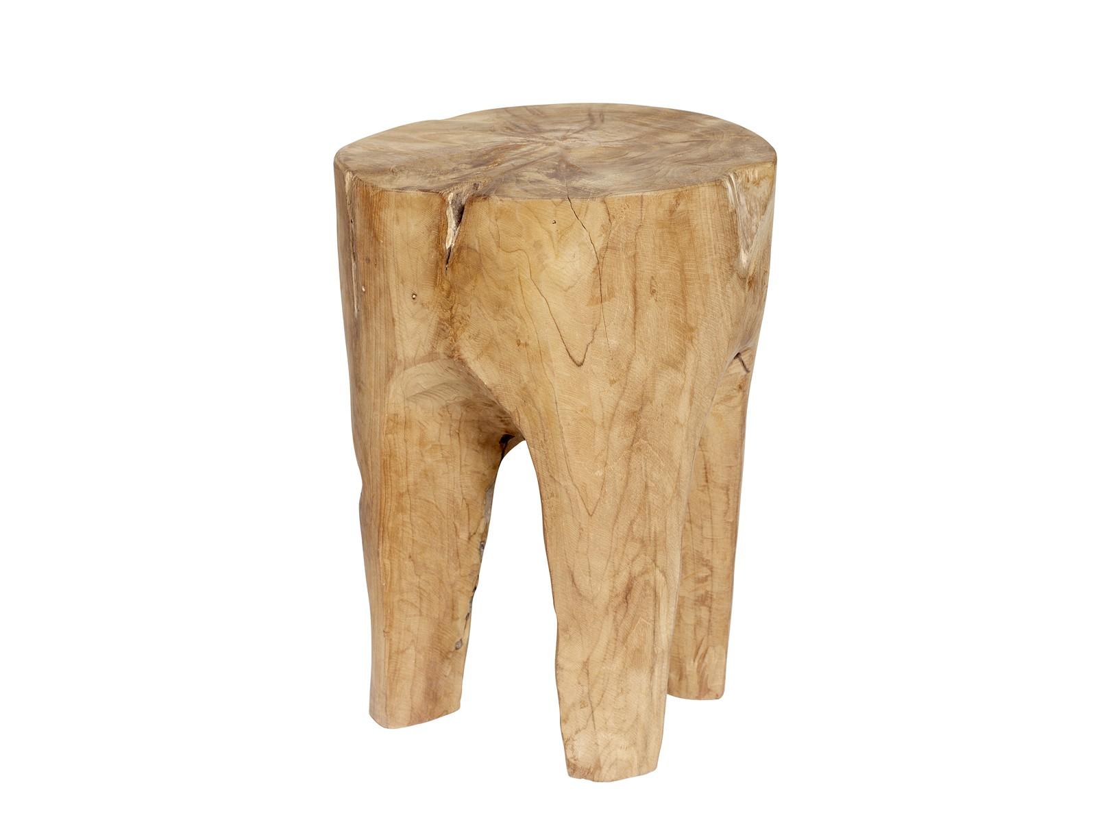 Табурет ПЕНЁКТабуреты<br>Табурет из цельного куска тика. Каждый имеет неповторимую природную форму. Сборка не требуется<br><br>Material: Дерево<br>Высота см: 40