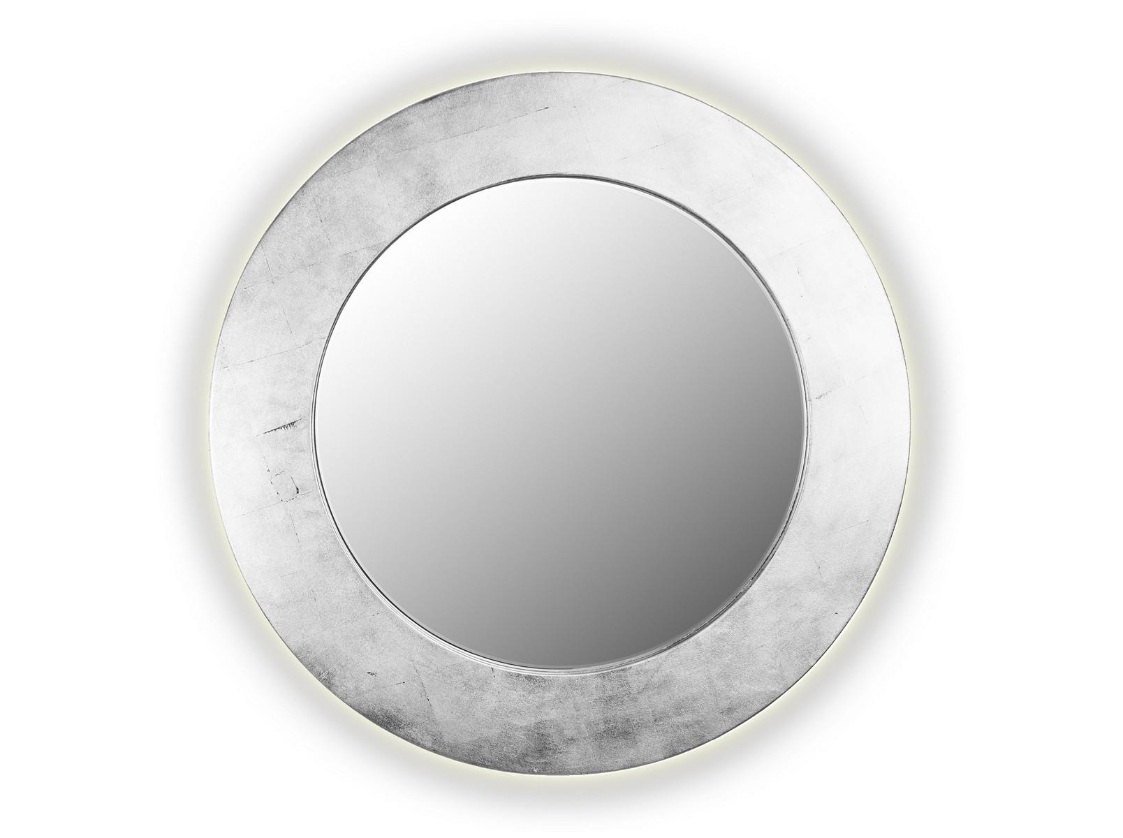 Зеркало PIECESНастенные зеркала<br>Данный вариант представлен в серебристом цвете.<br><br>Material: Дерево<br>Depth см: 4,2<br>Diameter см: 90