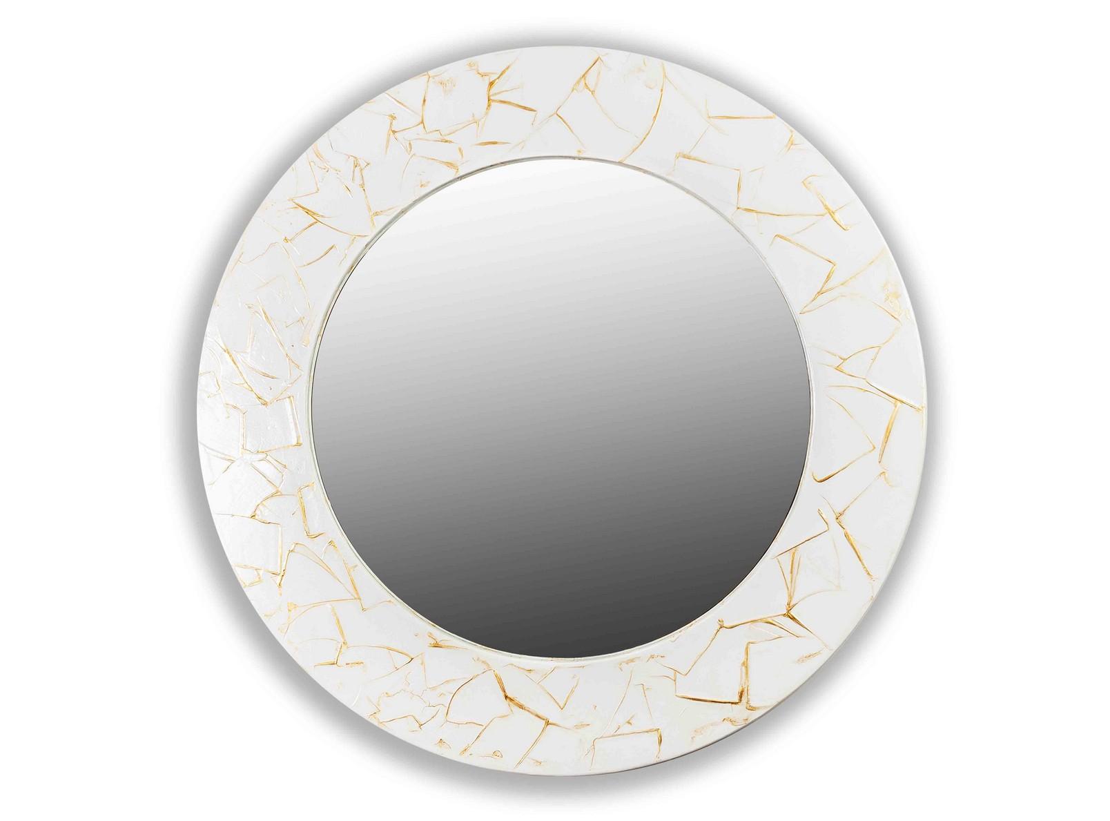 Зеркало FASHIONНастенные зеркала<br>Данный вариант представлен в белом цвете.<br><br>Material: Дерево<br>Глубина см: 3