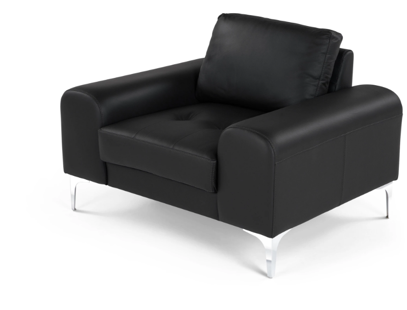 Кресло Vitto black leather