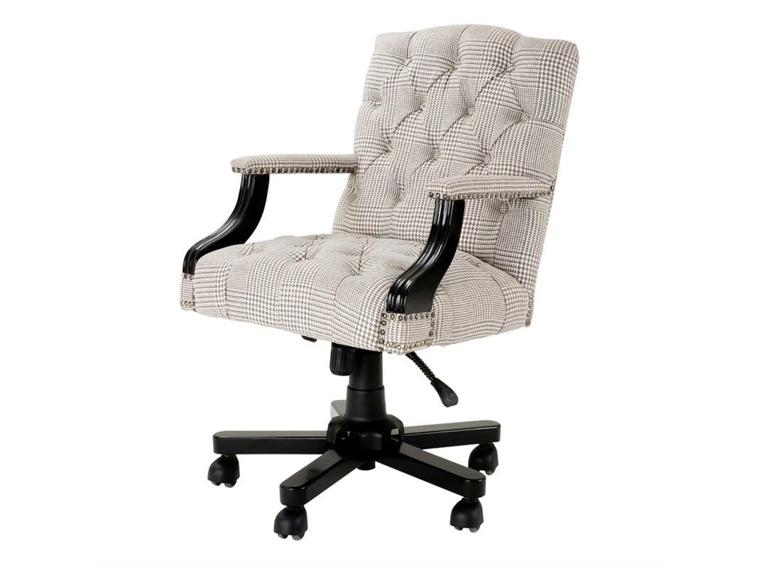 Кресло Desk Chair BurchellРабочие кресла<br>Обтянуто тканью бежевого цвета. Основание на колесиках. Высота кресла регулируется c 96 до 103 см.&amp;lt;div&amp;gt;Материалы: текстиль, дерево&amp;lt;/div&amp;gt;<br><br>Material: Текстиль<br>Width см: 56<br>Depth см: 66<br>Height см: 103