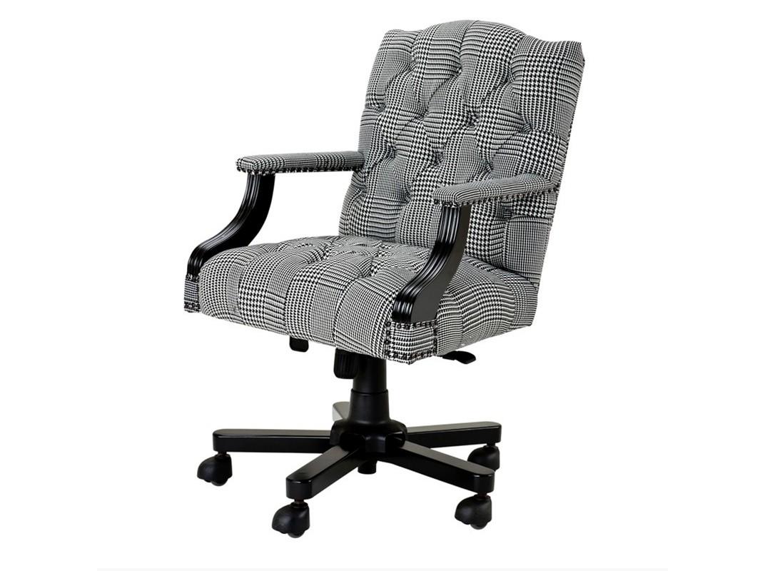Кресло Desk Chair BurchellРабочие кресла<br>Основание на колесиках. Высота кресла регулируется c 96 до 103 см.&amp;lt;div&amp;gt;Материалы: текстиль, дерево&amp;lt;/div&amp;gt;<br><br>Material: Текстиль<br>Width см: 56<br>Depth см: 66<br>Height см: 103
