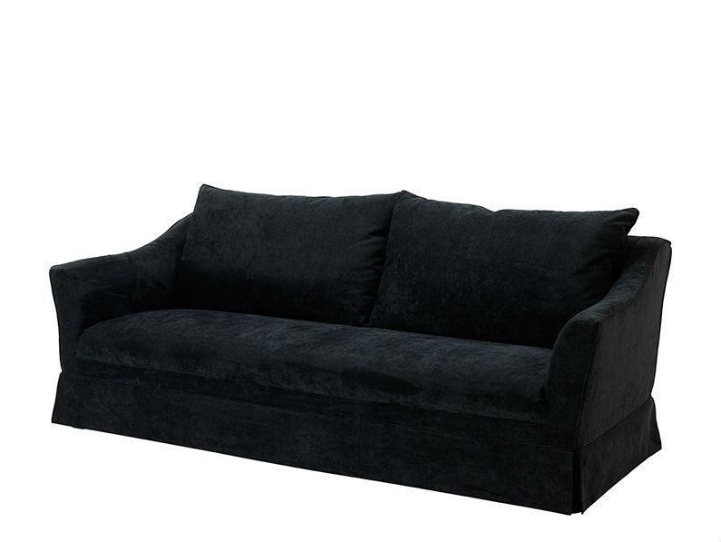 Диван MarlboroughТрехместные диваны<br><br><br>Material: Текстиль<br>Width см: 222<br>Depth см: 108<br>Height см: 89
