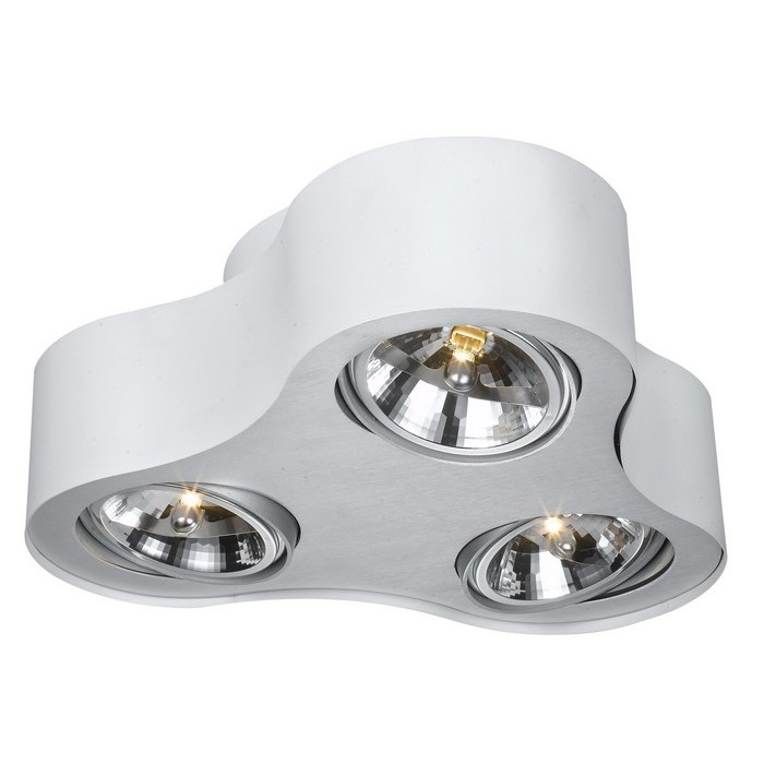 Потолочный светильникТочечный свет<br>&amp;lt;div&amp;gt;Цоколь:G53&amp;lt;/div&amp;gt;&amp;lt;div&amp;gt;Мощность лампы:50W&amp;lt;/div&amp;gt;&amp;lt;div&amp;gt;Количество ламп:3&amp;lt;/div&amp;gt;<br><br>Material: Металл<br>Height см: 14<br>Diameter см: 42
