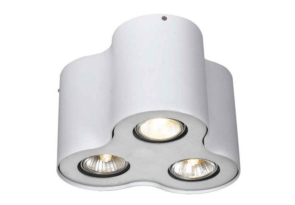Потолочный светильникТочечный свет<br>&amp;lt;div&amp;gt;Цоколь:G10&amp;lt;/div&amp;gt;&amp;lt;div&amp;gt;Мощность лампы:50W&amp;lt;/div&amp;gt;&amp;lt;div&amp;gt;Количество ламп:3&amp;lt;/div&amp;gt;<br><br>Material: Металл<br>Height см: 15<br>Diameter см: 22