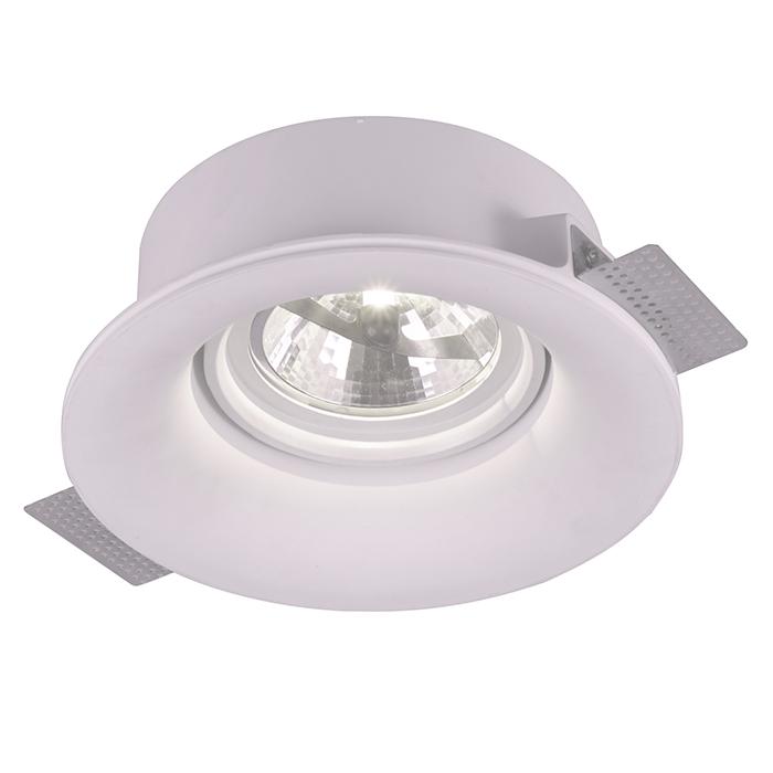 Потолочный светильникТочечный свет<br>&amp;lt;div&amp;gt;Цоколь:G53&amp;lt;/div&amp;gt;&amp;lt;div&amp;gt;Мощность лампы:50W&amp;lt;/div&amp;gt;&amp;lt;div&amp;gt;Количество ламп:1&amp;lt;/div&amp;gt;&amp;lt;div&amp;gt;&amp;lt;br&amp;gt;&amp;lt;/div&amp;gt;&amp;lt;div&amp;gt;Степень защиты: IP20&amp;lt;/div&amp;gt;<br><br>Material: Гипс