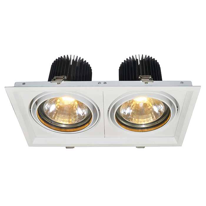 Потолочный светильникТочечный свет<br>&amp;lt;div&amp;gt;Цоколь:LED&amp;lt;/div&amp;gt;&amp;lt;div&amp;gt;Мощность лампы:30W&amp;lt;/div&amp;gt;&amp;lt;div&amp;gt;Количество ламп:2&amp;lt;/div&amp;gt;<br><br>Material: Алюминий<br>Width см: 35<br>Depth см: 19<br>Height см: 15