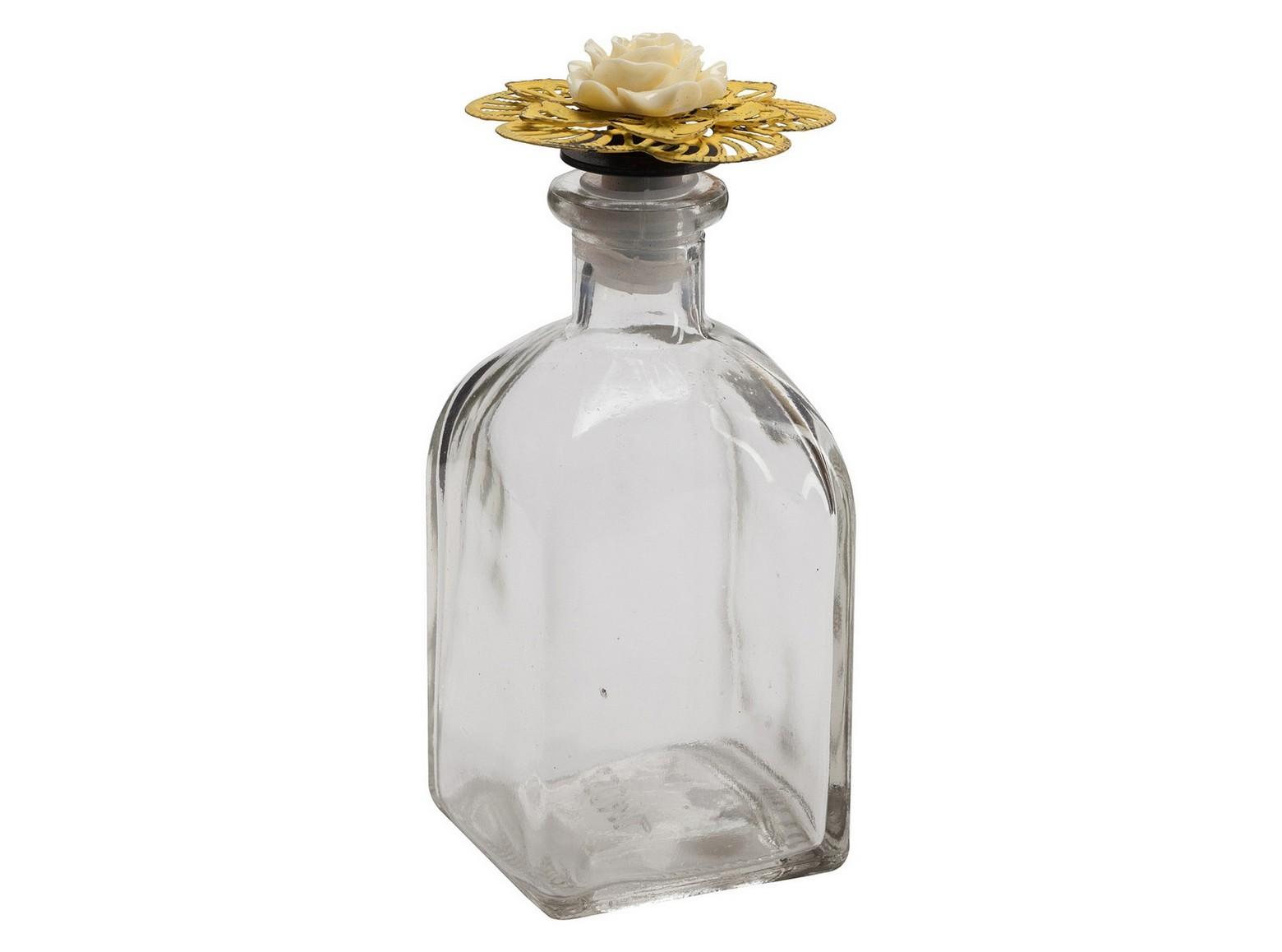 Декоративный флакон FleurЕмкости для хранения<br><br><br>Material: Стекло<br>Ширина см: 7<br>Высота см: 15<br>Глубина см: 7