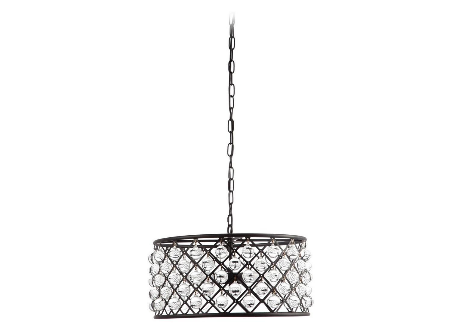 Подвесной светильник CassielПодвесные светильники<br>Дивная и изящная люстра CASSIEL с рассеивателем из стеклянных шариков несомненно добавит легкого шика в любой интерьер. Великолепная металлическая люстра, в которой шарики из стекла подсвечиваются изнутри, одновременно дает и рассеянный, и направленный свет. Люстра подойдет и для общественных, и для частных интерьеров.&amp;lt;div&amp;gt;&amp;lt;br&amp;gt;&amp;lt;/div&amp;gt;&amp;lt;div&amp;gt;&amp;lt;div&amp;gt;Вид цоколя: Е14&amp;lt;/div&amp;gt;&amp;lt;div&amp;gt;Мощность лампы: 40W&amp;lt;/div&amp;gt;&amp;lt;div&amp;gt;Количество ламп: 5&amp;lt;/div&amp;gt;&amp;lt;div&amp;gt;Наличие ламп: нет&amp;lt;/div&amp;gt;&amp;lt;/div&amp;gt;<br><br>Material: Стекло<br>Height см: 25<br>Diameter см: 50