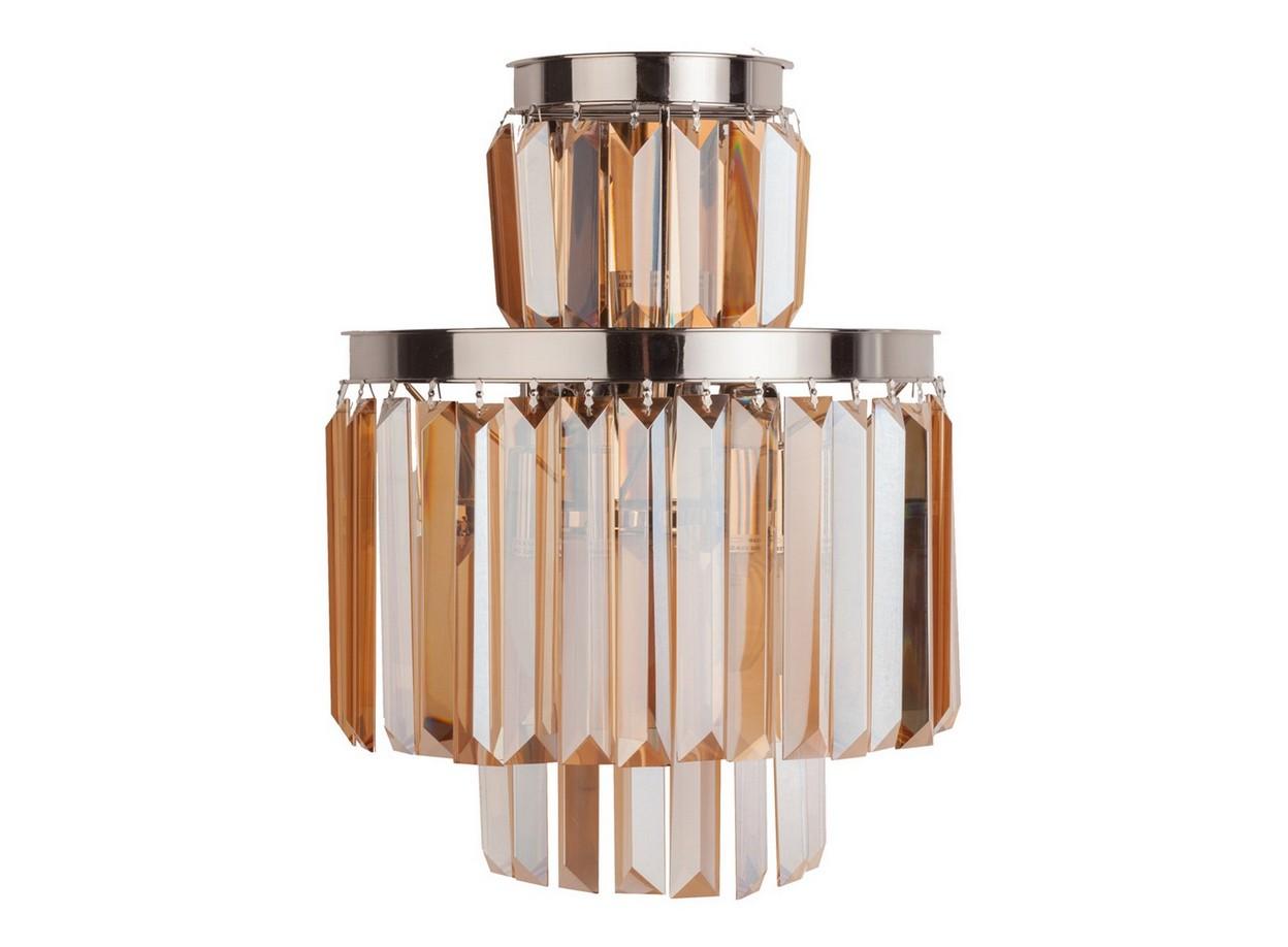 Настенный светильник Saliel MedioБра<br>Современный настенный светильник благодаря своей форме, создает оригинальное рассеивание света. Материалы высокого качества (никелированный металл, цветные хрустальные подвески), безупречное исполнение и оригинальное стилевое решение светильника Saliel помогут вам выразить собственное представление о прекрасном и создать уникальный и интересный интерьер.&amp;amp;nbsp;&amp;lt;div&amp;gt;&amp;lt;br&amp;gt;&amp;lt;/div&amp;gt;&amp;lt;div&amp;gt;&amp;lt;div&amp;gt;Вид цоколя: Е14&amp;lt;/div&amp;gt;&amp;lt;div&amp;gt;Мощность лампы: 40W&amp;lt;/div&amp;gt;&amp;lt;div&amp;gt;Количество ламп: 3&amp;lt;/div&amp;gt;&amp;lt;div&amp;gt;Наличие ламп: нет&amp;lt;/div&amp;gt;&amp;lt;/div&amp;gt;<br><br>Material: Металл<br>Width см: 36<br>Depth см: 36<br>Height см: 47