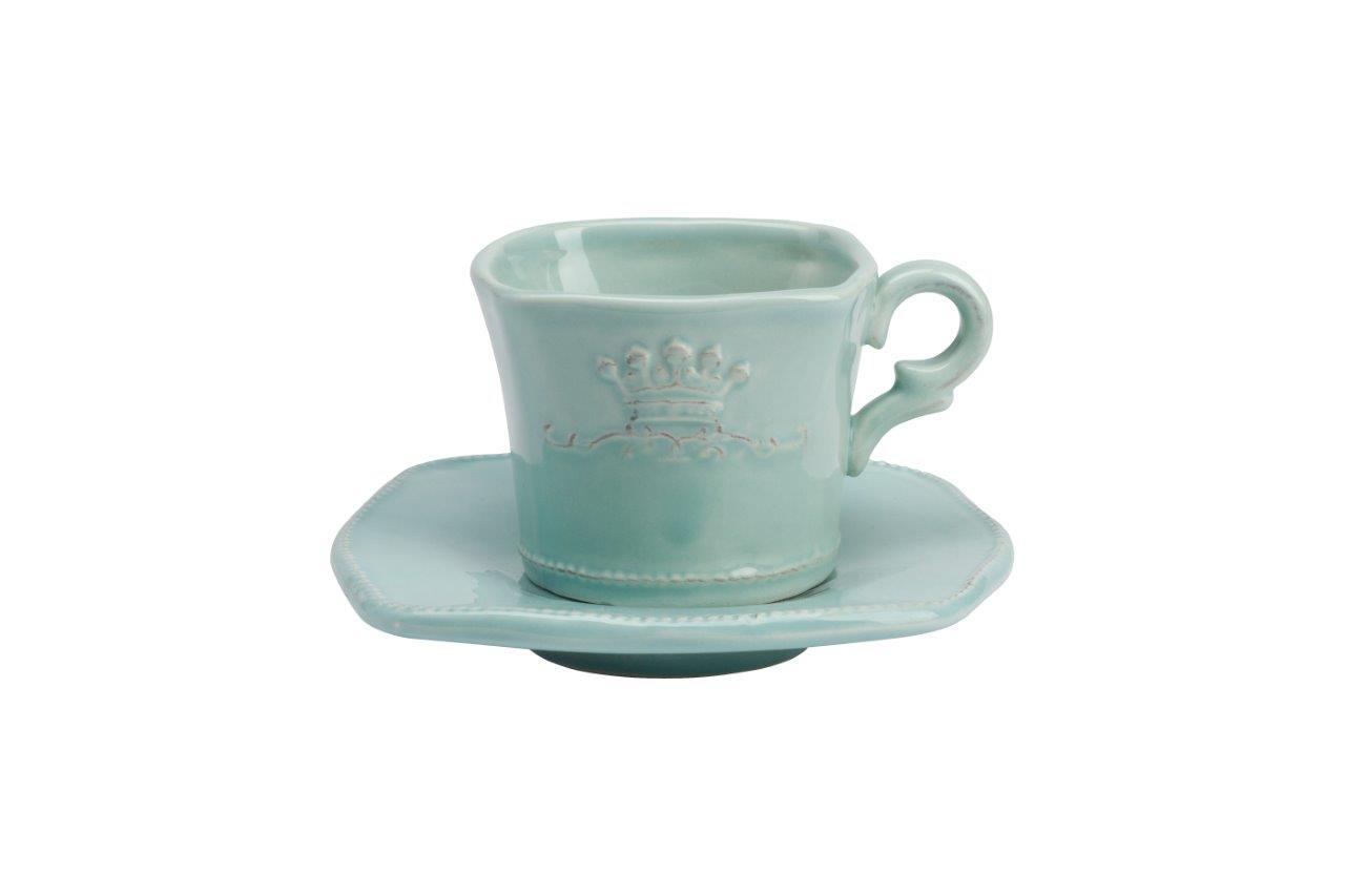 Чайная пара MonacoЧайные пары и чашки<br>Чайная пара Monaco — это элегантный чайный набор, выполненный в оригинальных современных формах, станет украшением вашего интерьера. Чёткие и одновременно мягкие контуры рисунка в виде короны элегантно подчеркнут высокий стиль любого стола.&amp;amp;nbsp;&amp;lt;div&amp;gt;&amp;lt;br&amp;gt;&amp;lt;/div&amp;gt;&amp;lt;div&amp;gt;Размеры: чашка 10х8х6 см, блюдце 12х12х0,5 см.&amp;lt;/div&amp;gt;<br><br>Material: Керамика<br>Height см: 10,5<br>Diameter см: 12