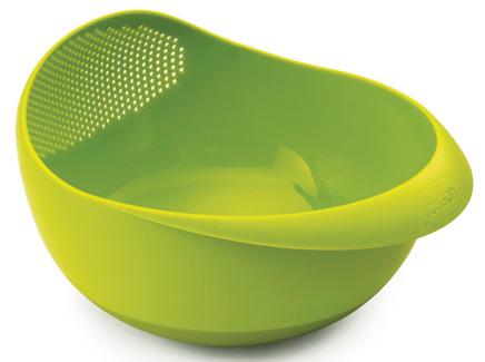 Миска-дуршлаг prep&serve (joseph joseph) зеленый 8x13x21 см.