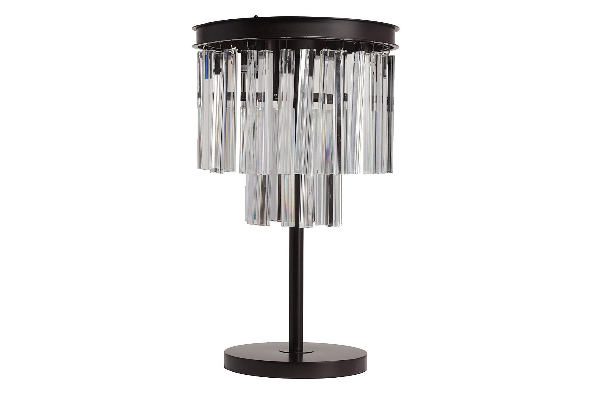 Настольная лампа Odeon FringeДекоративные лампы<br>Стильная настольная лампа ODEON FRINGE с прекрасными хрустальными подвесками. Красивая и изящная настольная лампа идеально впишется в интерьер любого помещения. Изделие имеет тонкую основу из качественного металла и абажур, украшенный множеством хрустальных подвесок. Благодаря этому ваша гостиная будет залита приятным мягким светом с изумительными отблесками от хрусталя. Предназначена для использования со светодиодными лампами, длина провода 50 см.&amp;lt;div&amp;gt;&amp;lt;br&amp;gt;&amp;lt;/div&amp;gt;&amp;lt;div&amp;gt;&amp;lt;div style=&amp;quot;line-height: 24.9999px;&amp;quot;&amp;gt;Вид цоколя:E14&amp;lt;/div&amp;gt;&amp;lt;div style=&amp;quot;line-height: 24.9999px;&amp;quot;&amp;gt;Мощность лампы:40W&amp;lt;/div&amp;gt;&amp;lt;div style=&amp;quot;line-height: 24.9999px;&amp;quot;&amp;gt;Количество ламп:3&amp;lt;/div&amp;gt;&amp;lt;/div&amp;gt;<br><br>Material: Металл<br>Height см: 65<br>Diameter см: 36
