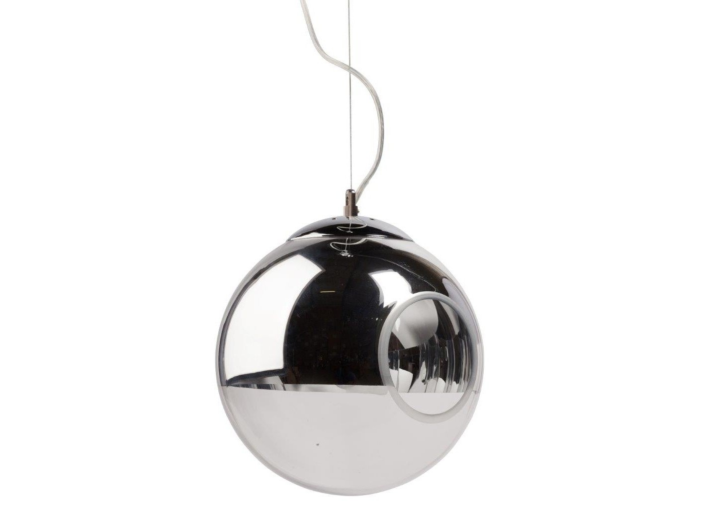 Подвесной светильник  GaspardПодвесные светильники<br>Удобный подвесной светильник Gaspard с металлическим основанием крепится на тонкой гибкой подвеске. Круглый стеклянный абажур в верхней части немного затонирован, это удобно и эстетично. Светильник выполнен в современном стиле, создаст уютную обстановку в доме и в любом учреждении. Предназначен для использования со светодиодными лампами. Длина провода 70 см.&amp;lt;div&amp;gt;&amp;lt;br&amp;gt;&amp;lt;/div&amp;gt;&amp;lt;div&amp;gt;&amp;lt;div&amp;gt;Вид цоколя:E27&amp;lt;/div&amp;gt;&amp;lt;div&amp;gt;Мощность лампы:40W&amp;lt;/div&amp;gt;&amp;lt;div&amp;gt;Количество ламп:1&amp;lt;/div&amp;gt;&amp;lt;/div&amp;gt;<br><br>Material: Стекло<br>Height см: 26<br>Diameter см: 24