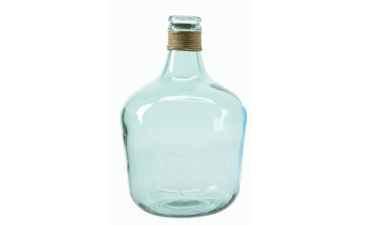 Бутыль с веревкой на горлышкеБанки и бутылки<br><br><br>Material: Стекло<br>Height см: 42<br>Diameter см: 27