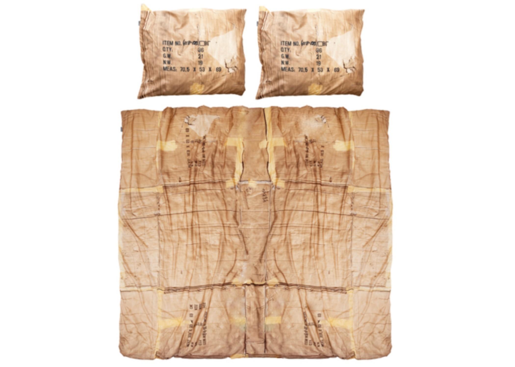 Комплект постельного белья Картонные КоробкиДвуспальные комплекты постельного белья<br>Это постельное белье было сделано, чтобы бездомной молодежи не пришлось спать на улице!  Большая часть выручки от продажи этих комплектов отправляется в различные фонды в Европе, которые помогают бороться с этой проблемой.&amp;amp;nbsp;&amp;lt;div&amp;gt;&amp;lt;br&amp;gt;&amp;lt;/div&amp;gt;&amp;lt;div&amp;gt;Материал: 100% хлопок ПЕРКАЛЬ (плотность ткани 214г/м2).&amp;lt;div&amp;gt;&amp;lt;span style=&amp;quot;line-height: 1.78571;&amp;quot;&amp;gt;В комплект входит: пододеяльник 200х220см - 1 шт, наволочка 50х70см - 2 шт.&amp;lt;/span&amp;gt;&amp;lt;br&amp;gt;&amp;lt;/div&amp;gt;&amp;lt;/div&amp;gt;<br><br>Material: Хлопок<br>Length см: 220<br>Width см: 200