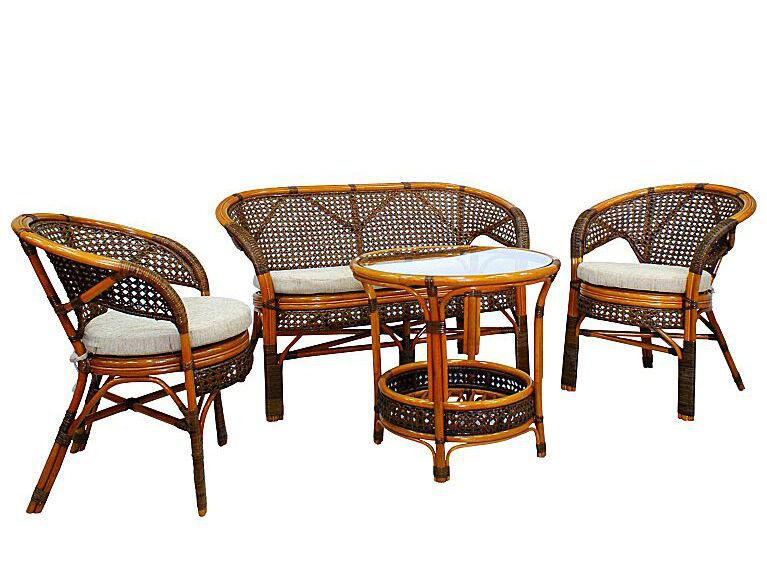 Комплект кофейный ПелангиКомплекты уличной мебели<br>Несмотря на изящное плетение из ротанга, этот комплект мебели может выдерживать большой вес. Важным достоинством являются анатомическая спинка и сплошное ротанговое плетение сидения и спинки, что позволяет использовать комплект без подушки.&amp;lt;div&amp;gt;&amp;lt;br&amp;gt;&amp;lt;/div&amp;gt;&amp;lt;div&amp;gt;Комплектация: два кресла, диван, мягкие подушки (на сидение), столик со стеклом (вставляется в паз).&amp;lt;/div&amp;gt;&amp;lt;div&amp;gt;Материал каркаса:  натуральный ротанг&amp;lt;/div&amp;gt;&amp;lt;div&amp;gt;Мягкая обивка/подушка:  ткань рогожка&amp;lt;/div&amp;gt;&amp;lt;div&amp;gt;Размеры: диван 123х70х78 см, кресло 66х70х78 см, стол 61х64х61 см&amp;lt;/div&amp;gt;&amp;lt;div&amp;gt;Выдерживаемая нагрузка, кг:  100&amp;lt;/div&amp;gt;<br><br>Material: Ротанг<br>Width см: 123<br>Depth см: 70<br>Height см: 78