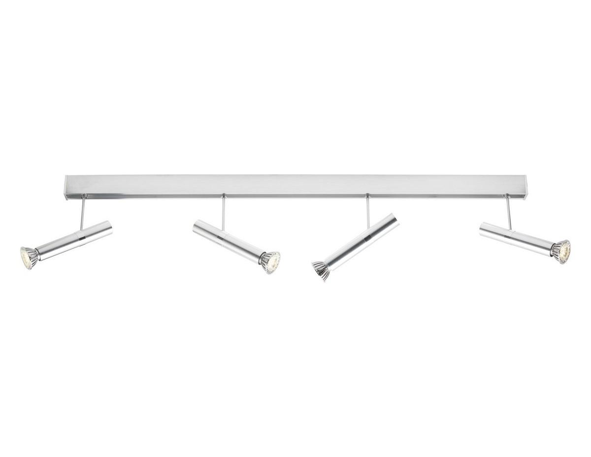 Система спотов TabeaСпоты<br>Вид цоколя: GU10&amp;amp;nbsp;&amp;lt;div&amp;gt;Количество ламп: 4&amp;amp;nbsp;&amp;lt;/div&amp;gt;&amp;lt;div&amp;gt;Наличие ламп: светодиодные (LED)&amp;amp;nbsp;&amp;lt;/div&amp;gt;&amp;lt;div&amp;gt;Мощность ламп: 6W&amp;lt;/div&amp;gt;<br><br>Material: Металл<br>Ширина см: 110<br>Высота см: 22<br>Глубина см: 16