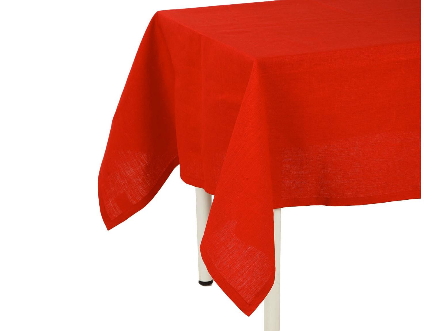 Скатерть Красный ленСкатерти<br>Скатерть на стол стиля кантри. Подойдет для романтического стиля и настроения. Ткань прочная лен , износоустойчивая.<br><br>Material: Лен<br>Length см: 220<br>Width см: 140