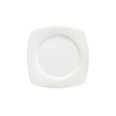 Тарелка квадратнаяТарелки<br><br><br>Material: Фарфор<br>Width см: 21,5<br>Depth см: 21,5