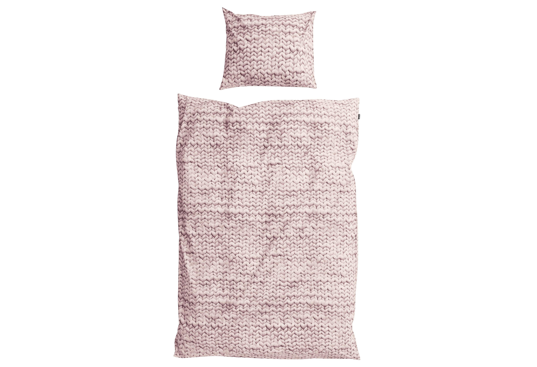 """Комплект постельного белья """"Косичка розовый"""""""