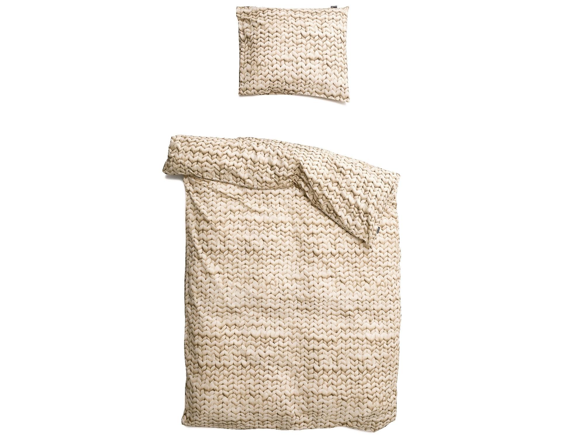 Комплект постельного белья Косичка бежевыйПолутороспальные комлпекты постельного белья<br>Этот мягкий узор связан очень большими спицами, а клубки шерсти были размером с баскетбольные мячи. Все для того, что бы внести уют и тепло в вашу спальню в холодные зимние ночи.&amp;amp;nbsp;&amp;lt;div&amp;gt;&amp;lt;br&amp;gt;&amp;lt;/div&amp;gt;&amp;lt;div&amp;gt;Материал: 100% хлопок ПЕРКАЛЬ (плотность ткани 214г/м2).&amp;amp;nbsp;&amp;lt;/div&amp;gt;&amp;lt;div&amp;gt;&amp;lt;span style=&amp;quot;line-height: 1.78571;&amp;quot;&amp;gt;В комплект входит: пододеяльник 150х200 см - 1 шт, наволочка 50х70 см - 1 шт.&amp;lt;/span&amp;gt;&amp;lt;/div&amp;gt;<br><br>Material: Хлопок<br>Length см: 200<br>Width см: 150