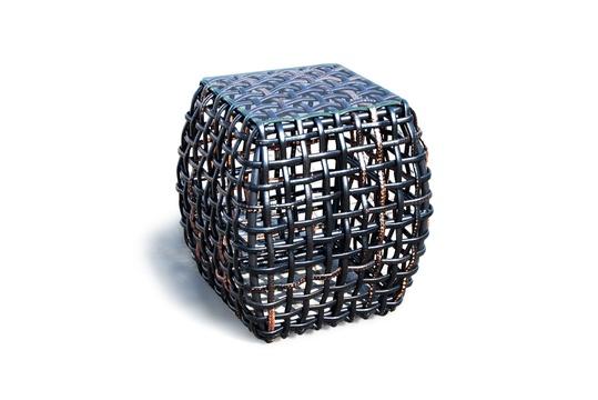 Приставной столикСтолы для улицы<br><br><br>Material: Ротанг<br>Length см: None<br>Width см: 51<br>Depth см: 51<br>Height см: 57